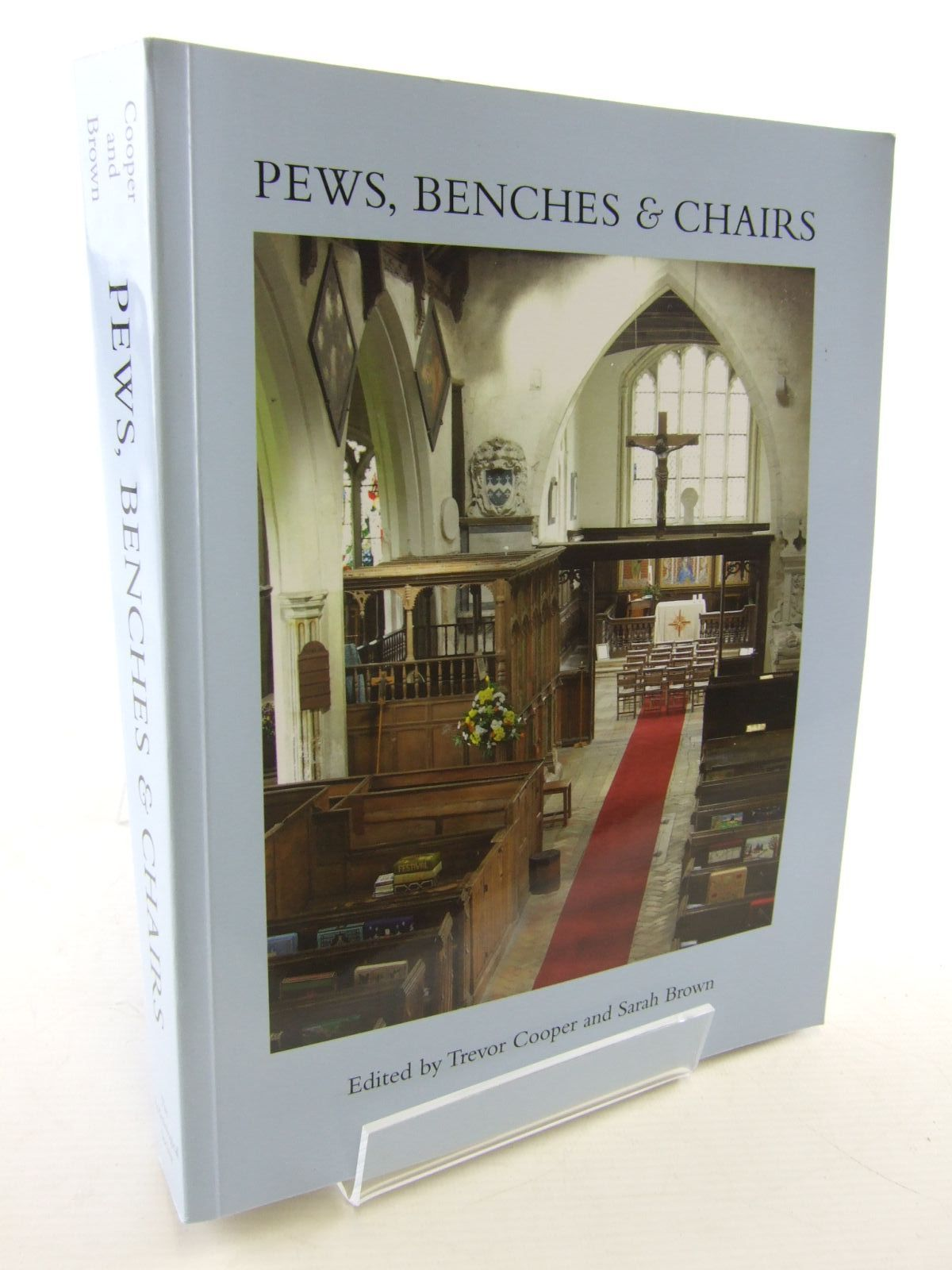 Photo of PEWS, BENCHES & CHAIRS written by Cooper, Trevor<br />Brown, Sarah published by The Ecclesiological Society (STOCK CODE: 1706471)  for sale by Stella & Rose's Books