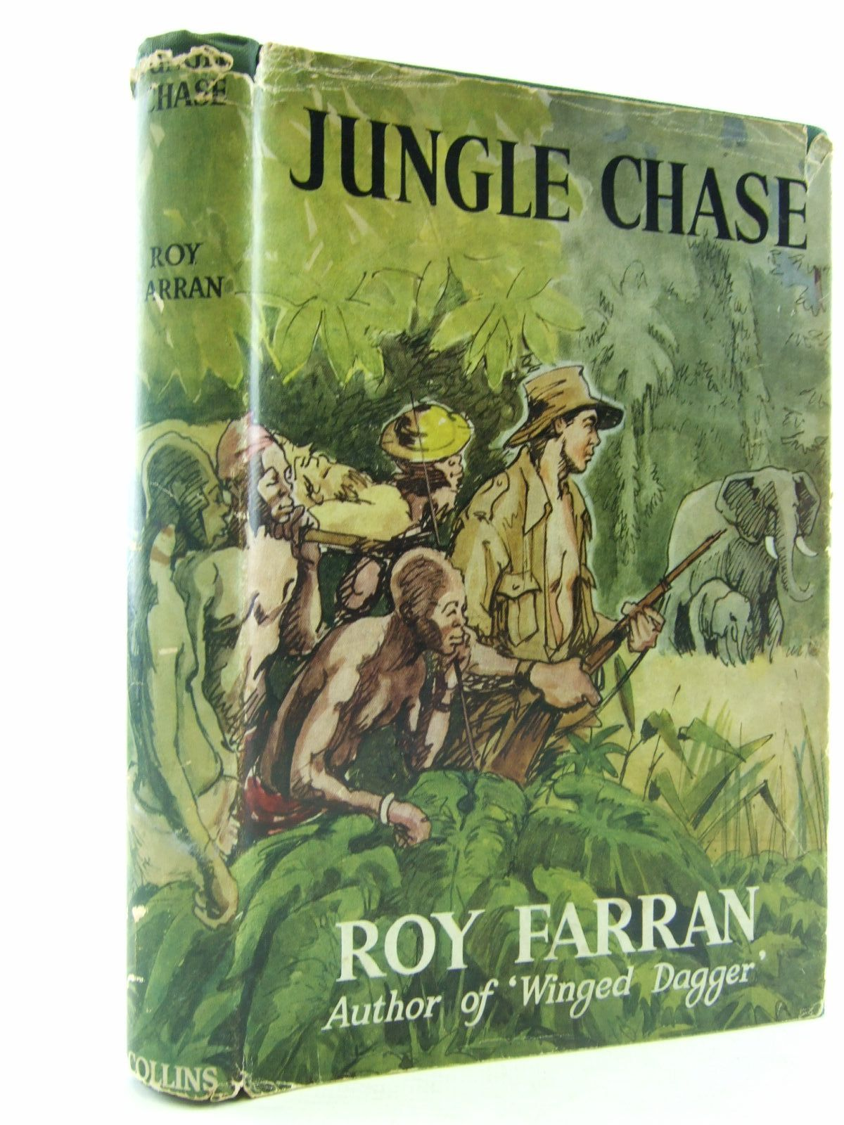 Photo of JUNGLE CHASE written by Farran, Roy published by Collins (STOCK CODE: 1706490)  for sale by Stella & Rose's Books