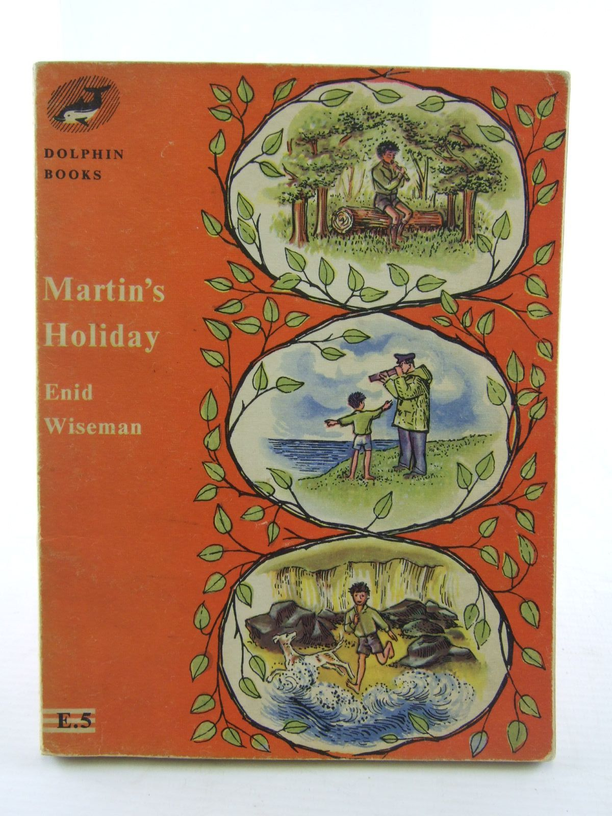 Photo of MARTIN'S HOLIDAY written by Wiseman, Enid illustrated by Walker, Monica published by University of London Press Ltd. (STOCK CODE: 1706492)  for sale by Stella & Rose's Books