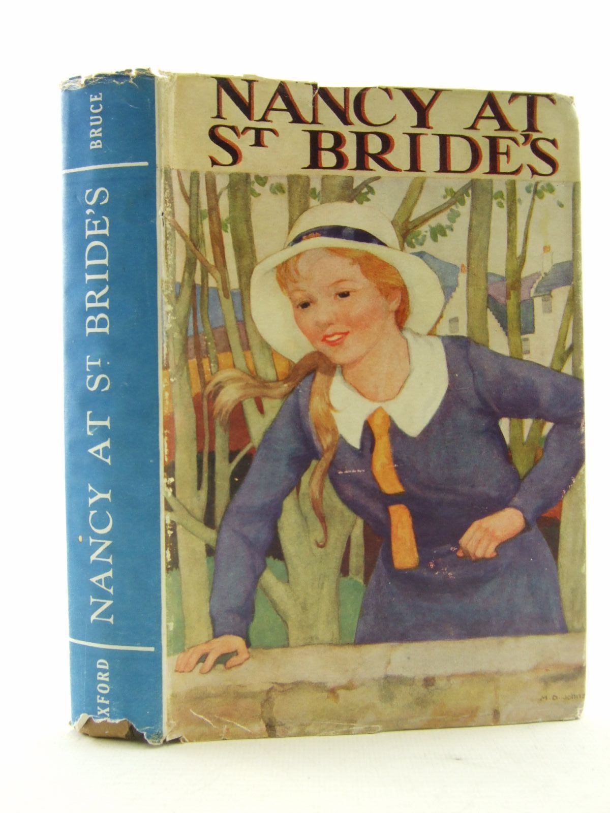 Photo of NANCY AT ST. BRIDE'S written by Bruce, Dorita Fairlie published by Oxford University Press, Geoffrey Cumberlege (STOCK CODE: 1706519)  for sale by Stella & Rose's Books