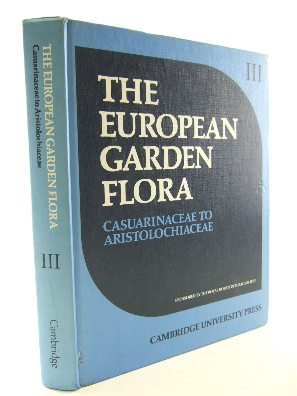 Photo of THE EUROPEAN GARDEN FLORA VOLUME III DICOTYLEDONS (PART I) written by Walters, S.M.<br />et al,  published by Cambridge University Press (STOCK CODE: 1706795)  for sale by Stella & Rose's Books