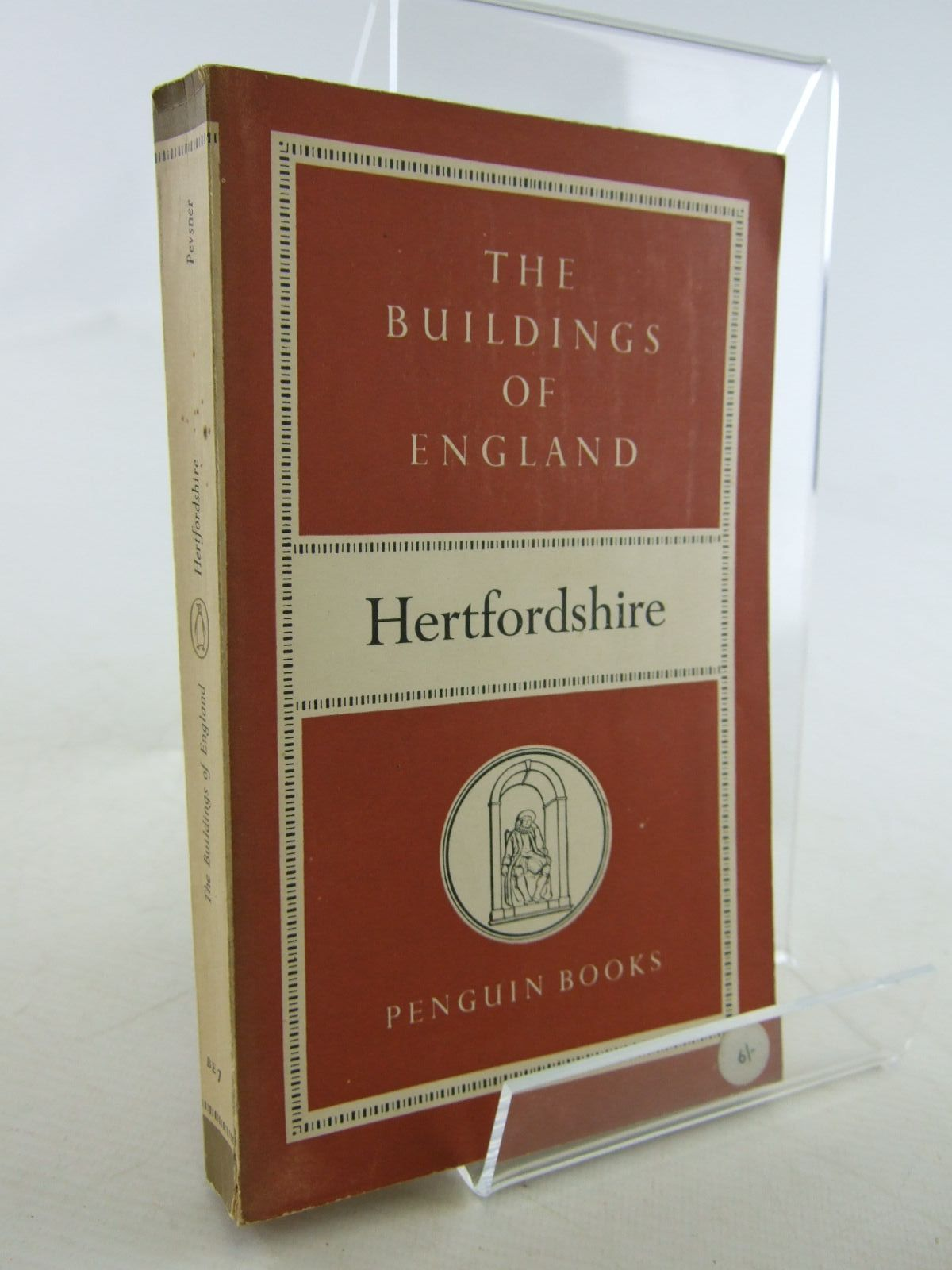 Photo of HERTFORDSHIRE (BUILDINGS OF ENGLAND) written by Pevsner, Nikolaus published by Penguin (STOCK CODE: 1706842)  for sale by Stella & Rose's Books