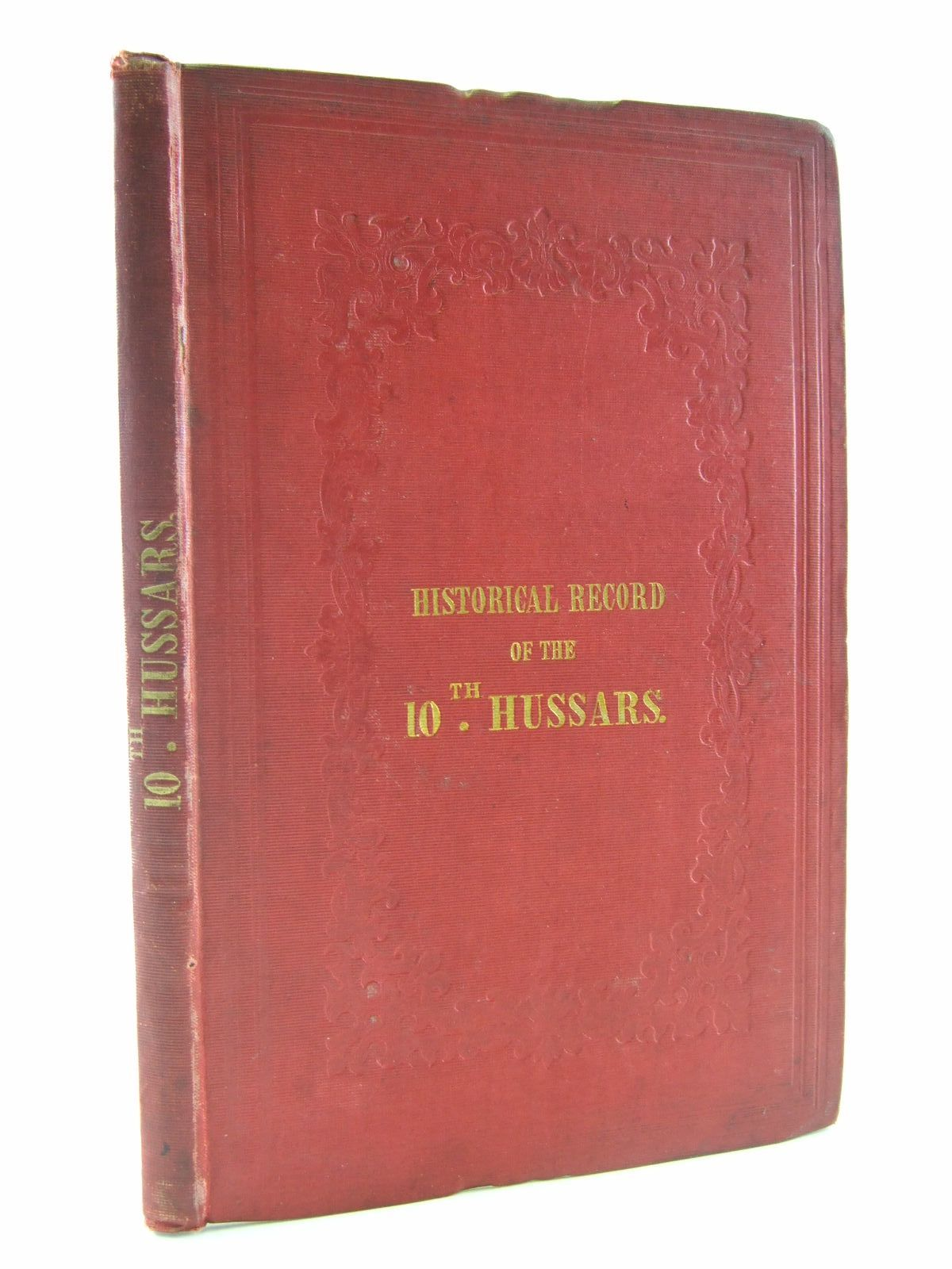 Photo of HISTORICAL RECORD OF THE TENTH, THE PRINCE OF WALE'S OWN ROYAL REGIMENT OF HUSSARS written by Cannon, Richard published by John W. Parker (STOCK CODE: 1706916)  for sale by Stella & Rose's Books