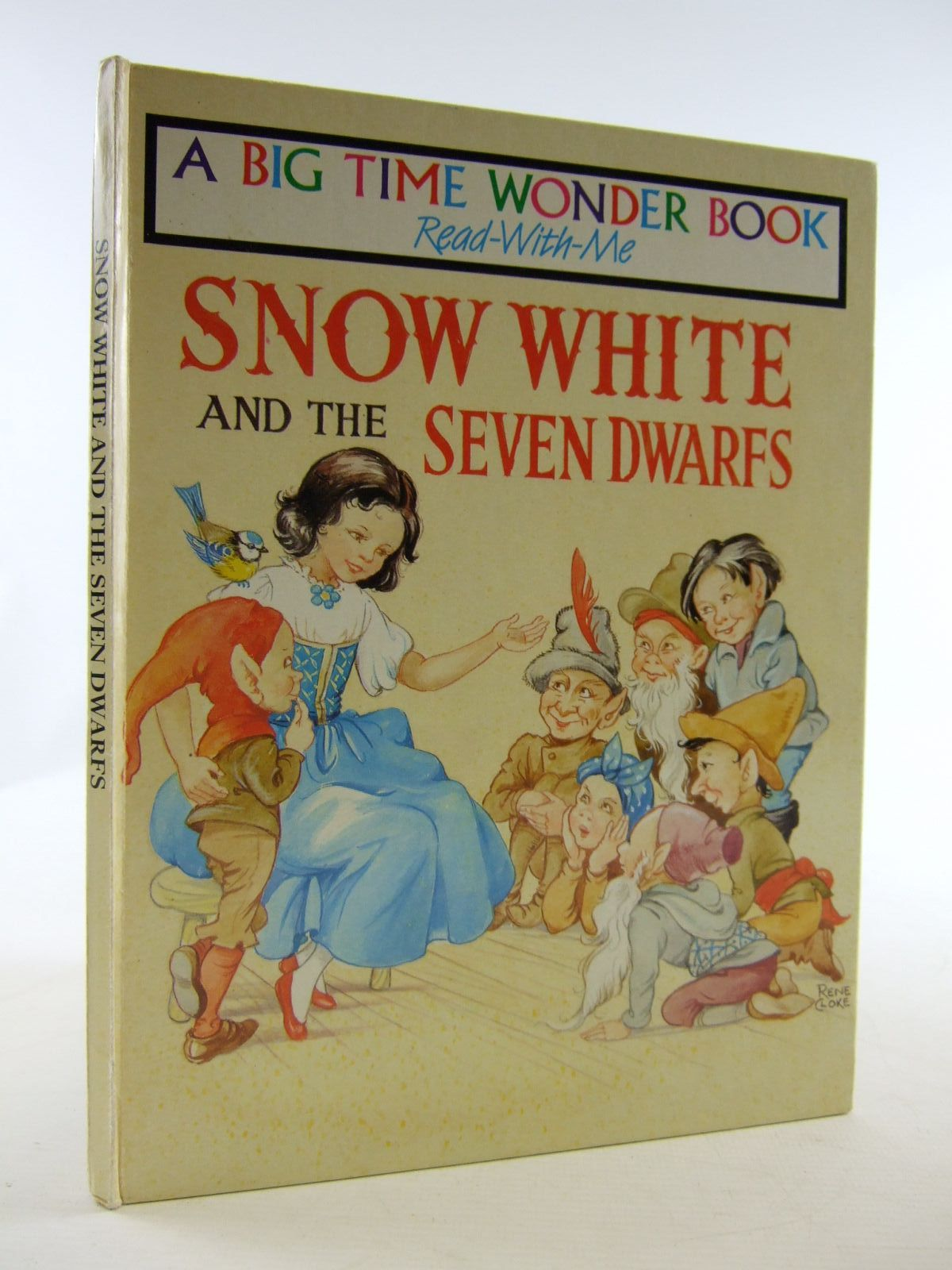 Photo of SNOW WHITE AND THE SEVEN DWARFS illustrated by Cloke, Rene published by Peter Haddock (STOCK CODE: 1707353)  for sale by Stella & Rose's Books