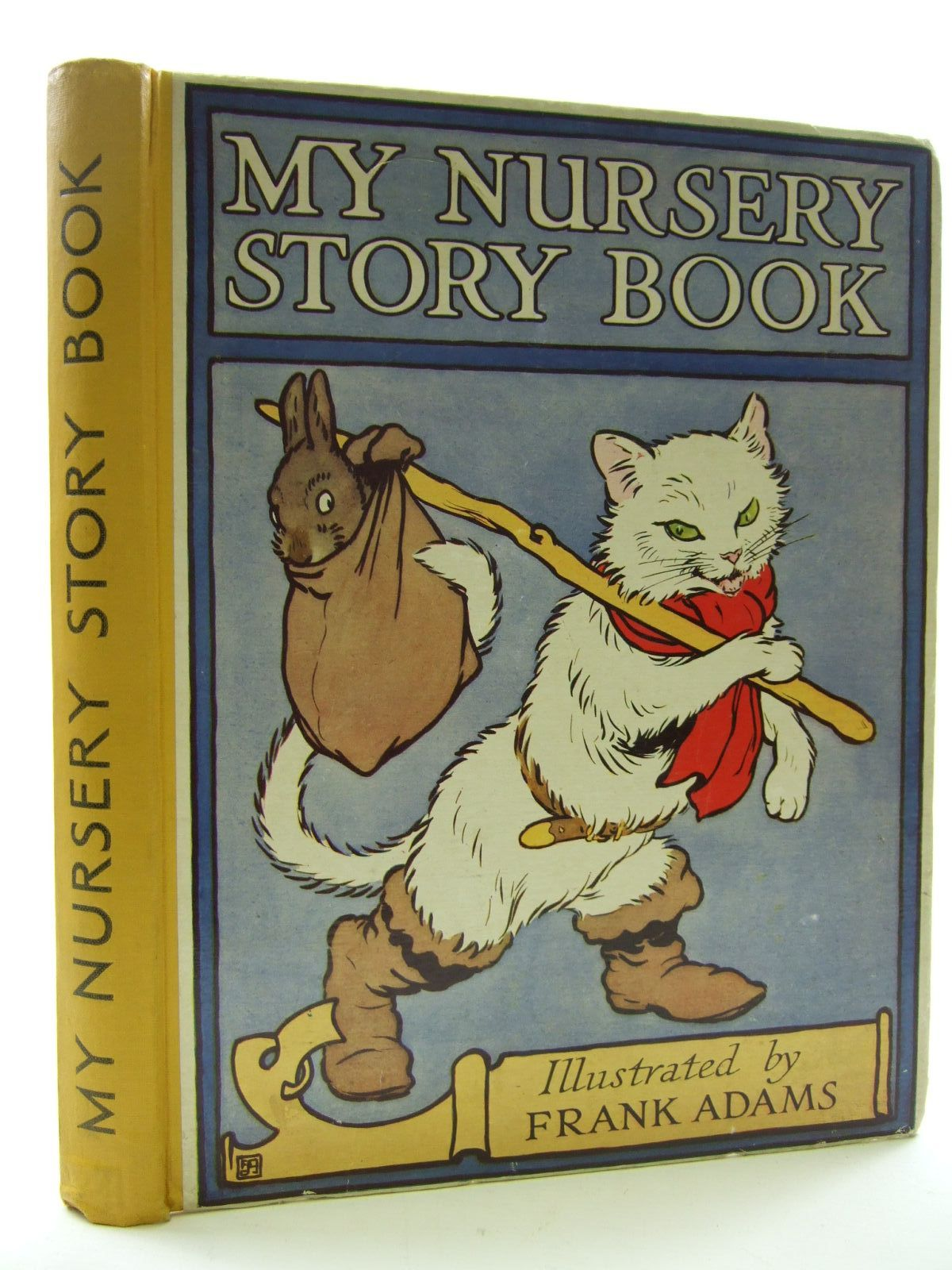 Photo of MY NURSERY STORY BOOK illustrated by Adams, Frank published by Blackie & Son Ltd. (STOCK CODE: 1707742)  for sale by Stella & Rose's Books