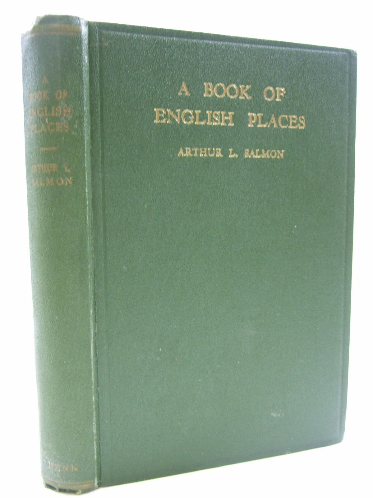 Photo of A BOOK OF ENGLISH PLACES written by Salmon, Arthur L. published by Ernest Benn Limited (STOCK CODE: 1707851)  for sale by Stella & Rose's Books