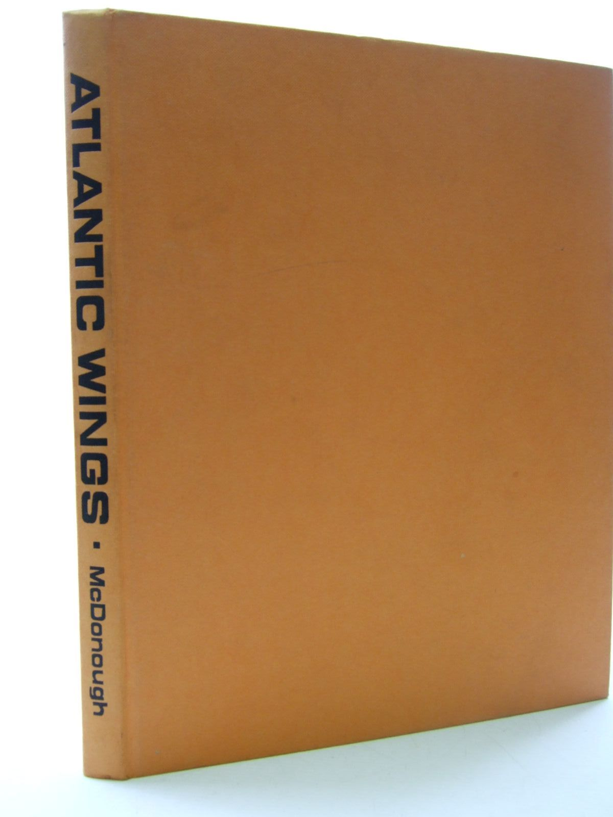 Photo of ATLANTIC WINGS written by McDonough, Kenneth illustrated by McDonough, Kenneth published by Model Aeronautical Press Limited (STOCK CODE: 1707877)  for sale by Stella & Rose's Books