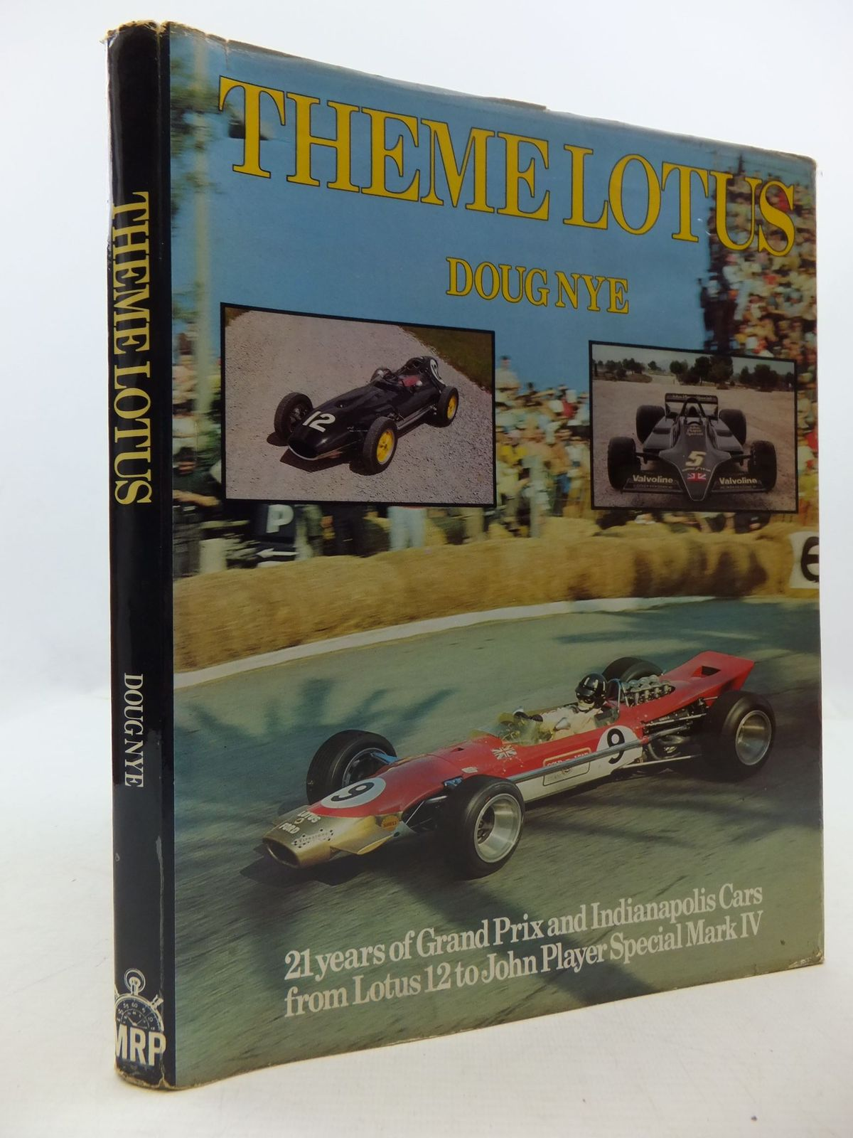 Photo of THEME LOTUS written by Nye, Doug published by Motor Racing Publications Ltd. (STOCK CODE: 1708865)  for sale by Stella & Rose's Books