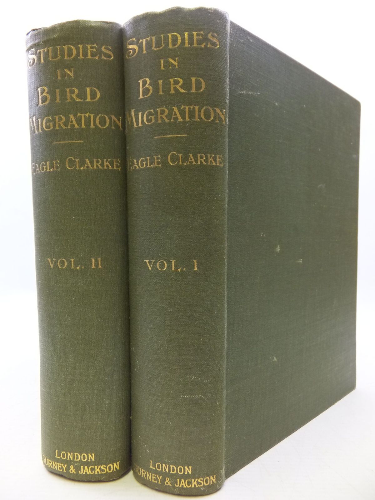 Photo of STUDIES IN BIRD MIGRATION (2 VOLUMES)
