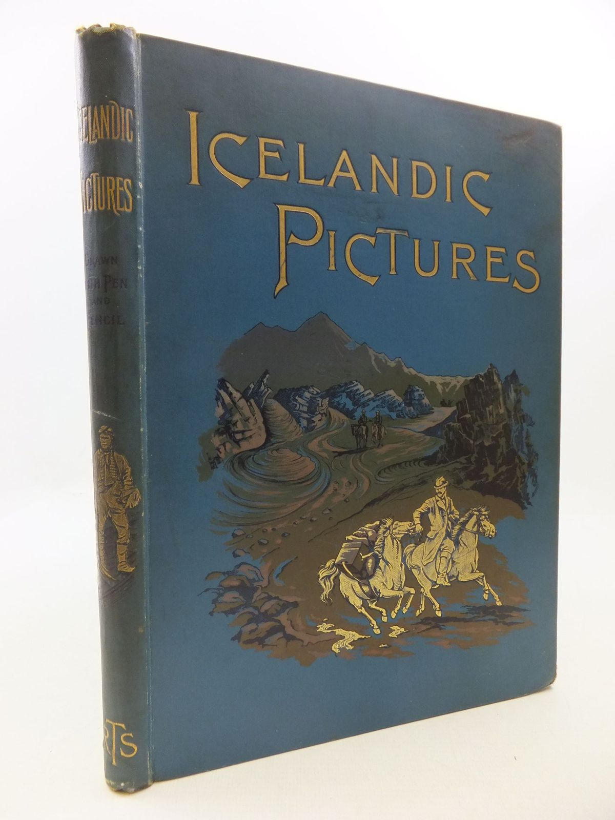 Photo of ICELANDIC PICTURES DRAWN WITH PEN AND PENCIL