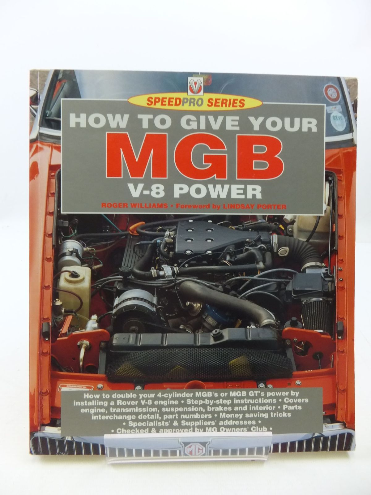 Photo of HOW TO GIVE YOUR MGB V-8 POWER