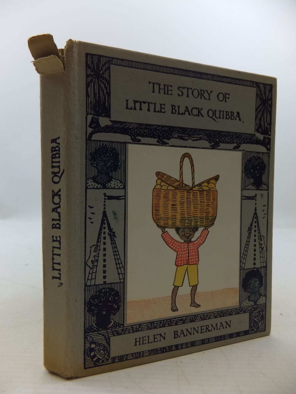 Photo of THE STORY OF LITTLE BLACK QUIBBA written by Bannerman, Helen published by Nisbet & Co. Ltd. (STOCK CODE: 1708989)  for sale by Stella & Rose's Books