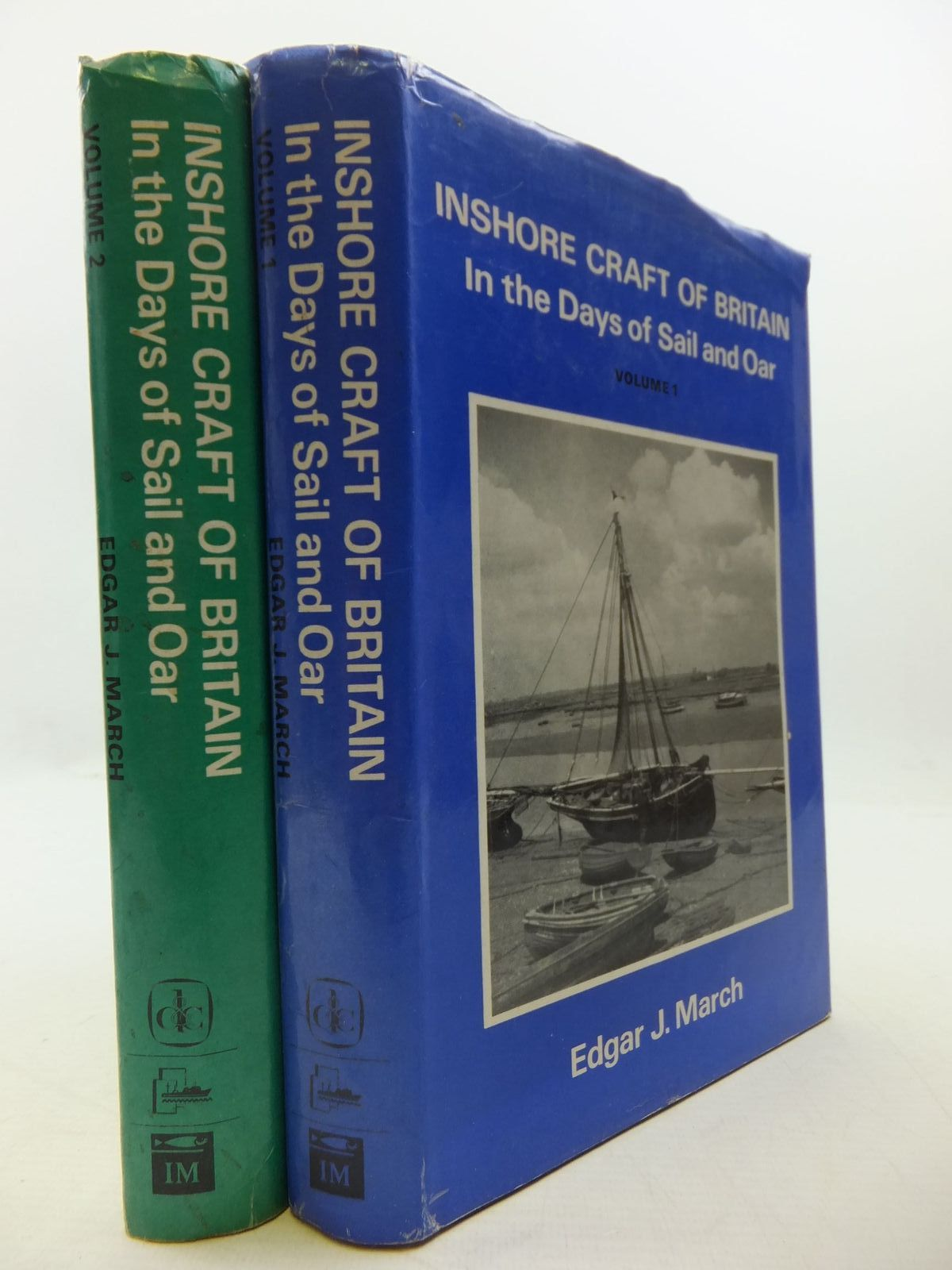 Photo of INSHORE CRAFT OF GREAT BRITAIN VOLUME 1 & 2 written by March, Edgar J. published by David & Charles (STOCK CODE: 1709078)  for sale by Stella & Rose's Books