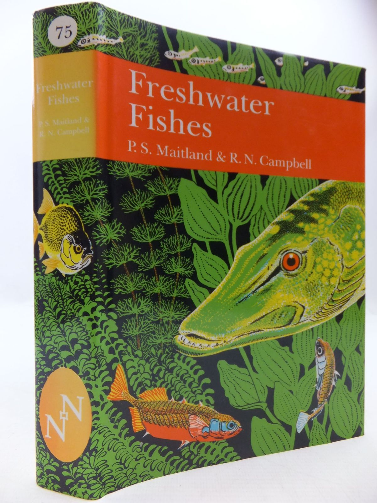 Photo of FRESHWATER FISHES OF THE BRITISH ISLES (NN 75) written by Maitland, Peter S.<br />Campbell, R. Niall published by Collins (STOCK CODE: 1709261)  for sale by Stella & Rose's Books