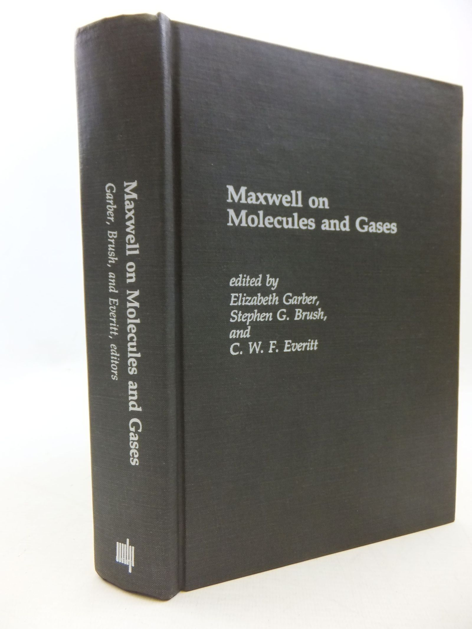 Photo of MAXWELL ON MOLECULES AND GASES