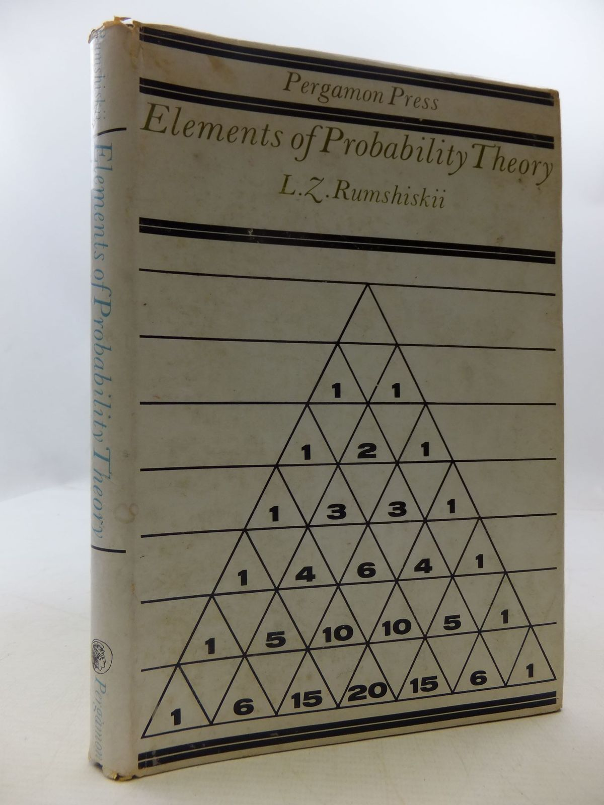 Photo of ELEMENTS OF PROBABILITY THEORY written by Rumshiskii, L.Z.<br />Wishart, D.M.G. published by Pergamon Press (STOCK CODE: 1709332)  for sale by Stella & Rose's Books