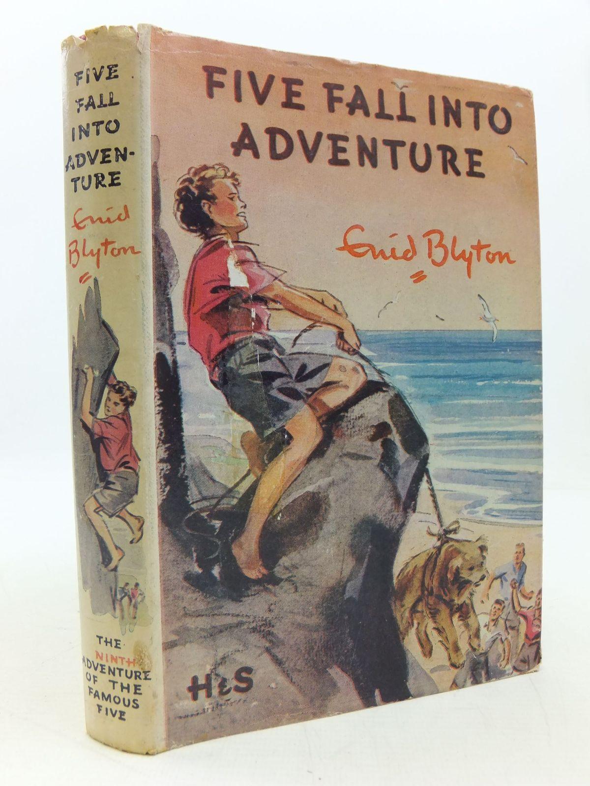 Five Fall Into Adventure Written By Blyton Enid Stock
