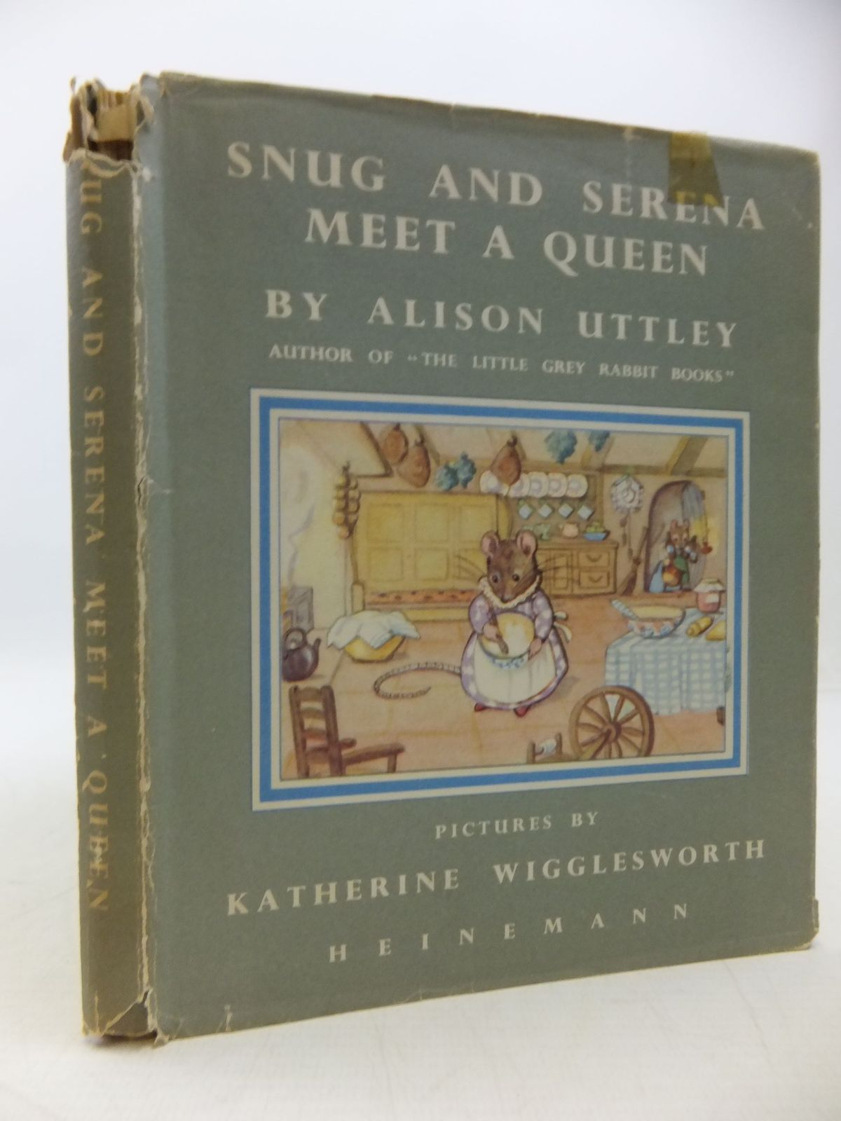 Photo of SNUG AND SERENA MEET A QUEEN written by Uttley, Alison illustrated by Wigglesworth, Katherine published by William Heinemann Ltd. (STOCK CODE: 1709554)  for sale by Stella & Rose's Books