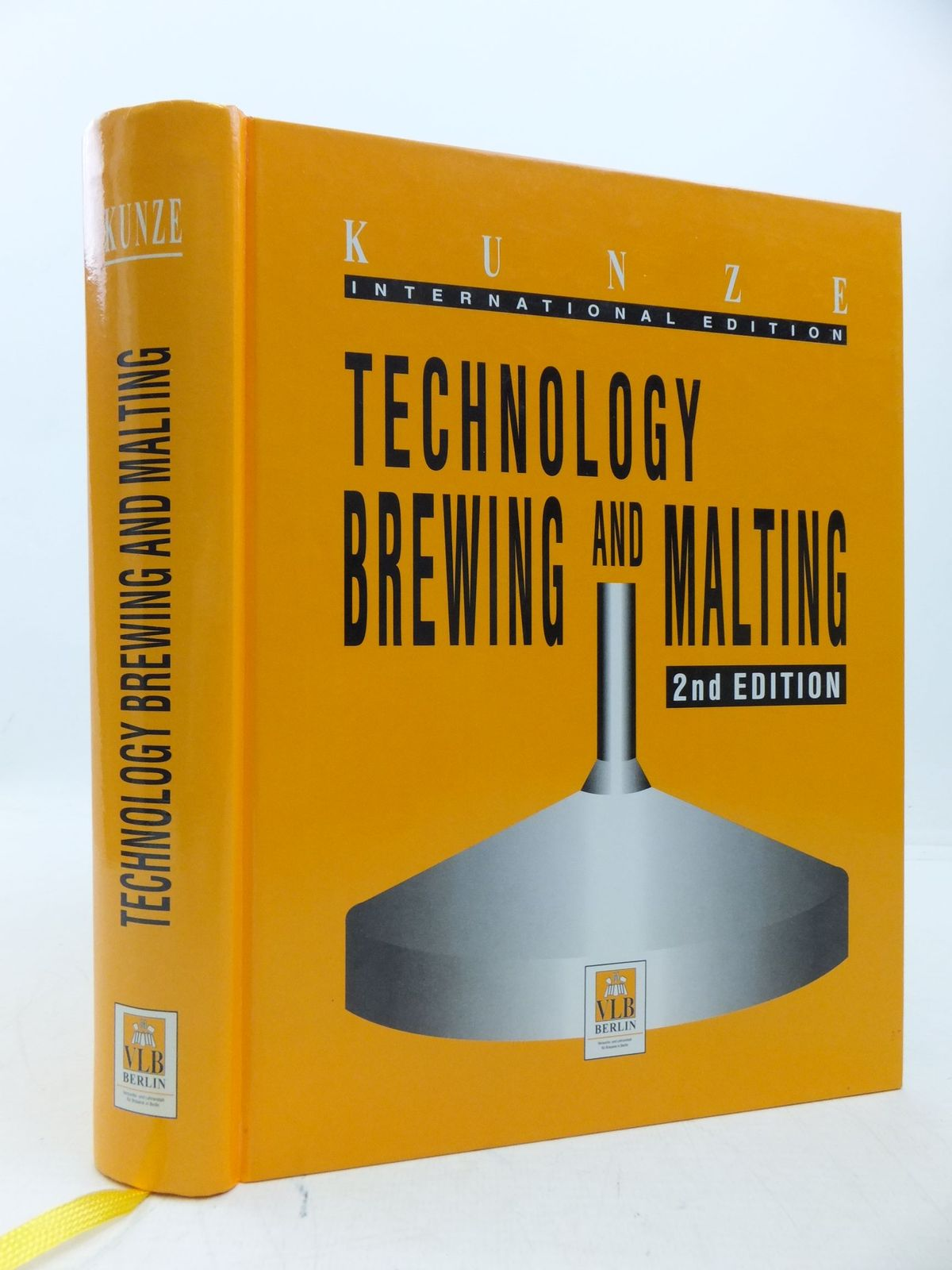 Photo of TECHNOLOGY BREWING AND MALTING written by Kunze, Wolfgang<br />Hamburg, H.O. Mieth published by Vlb Berlin (STOCK CODE: 1709576)  for sale by Stella & Rose's Books