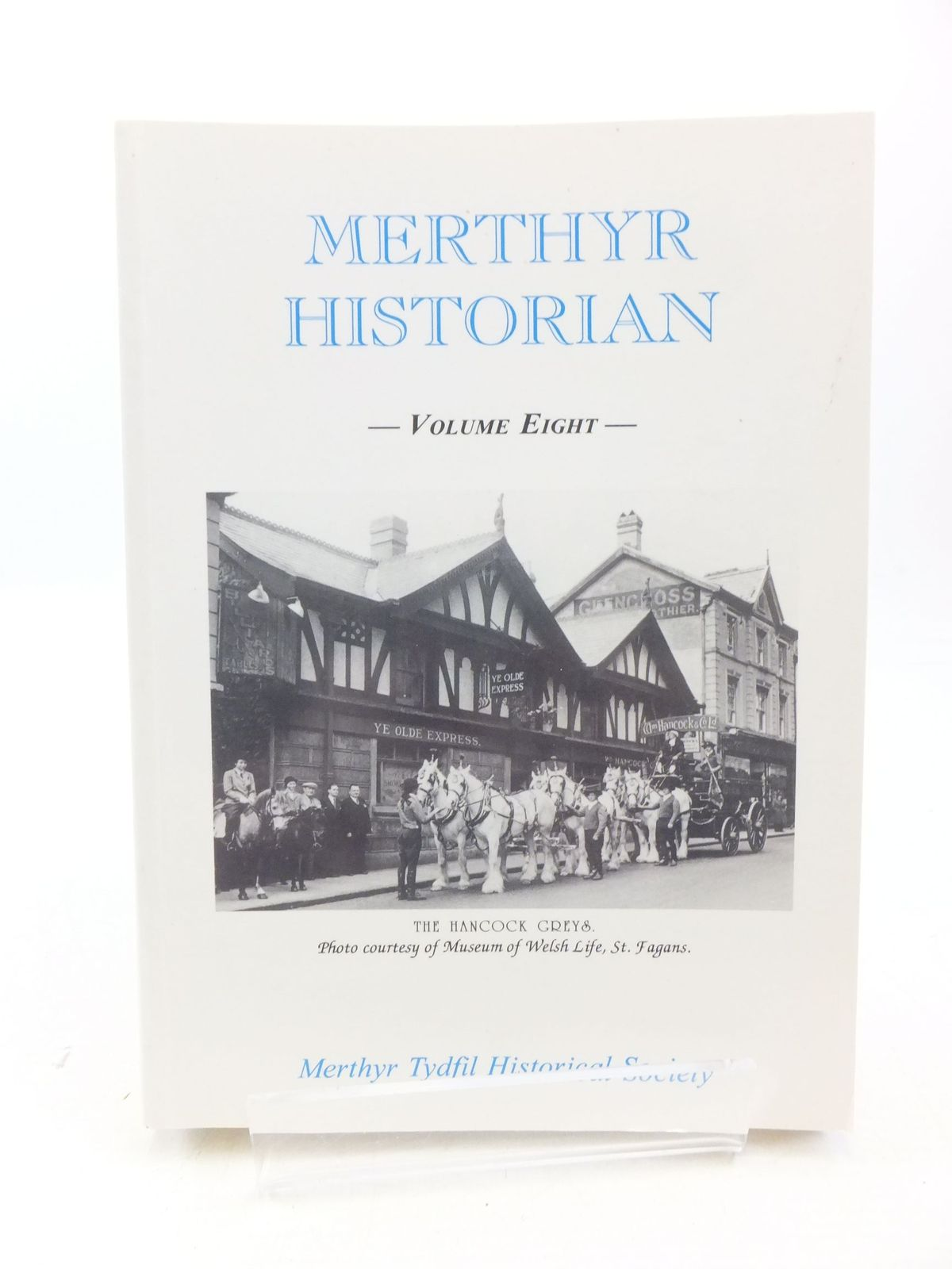 Photo of MERTHYR HISTORIAN VOLUME EIGHT written by Holley, T.F. published by Merthyr Tydfil Historical Society (STOCK CODE: 1709622)  for sale by Stella & Rose's Books