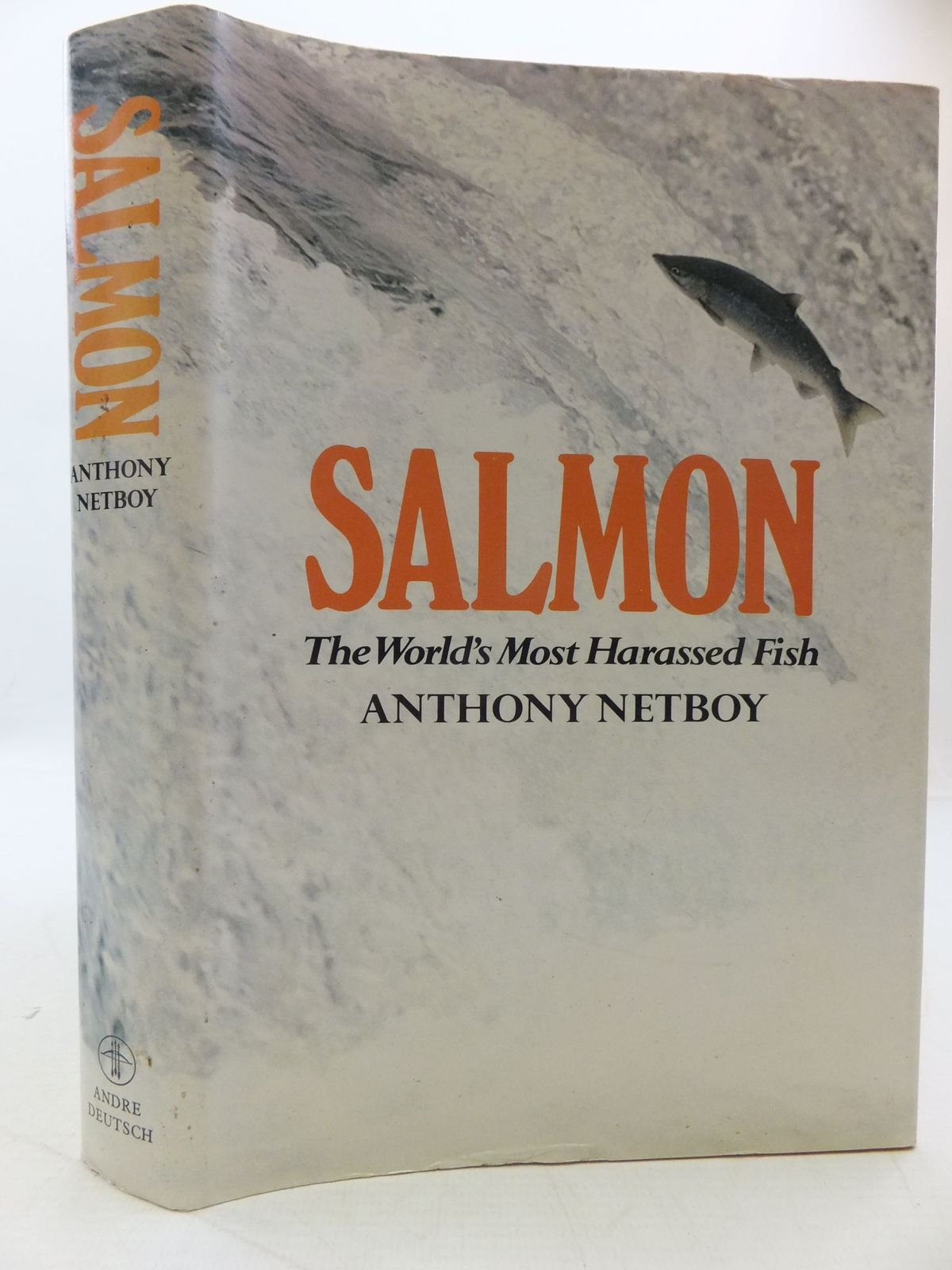 Photo of SALMON THE WORLD'S MOST HARASSED FISH written by Netboy, Anthony published by Andre Deutsch (STOCK CODE: 1709637)  for sale by Stella & Rose's Books