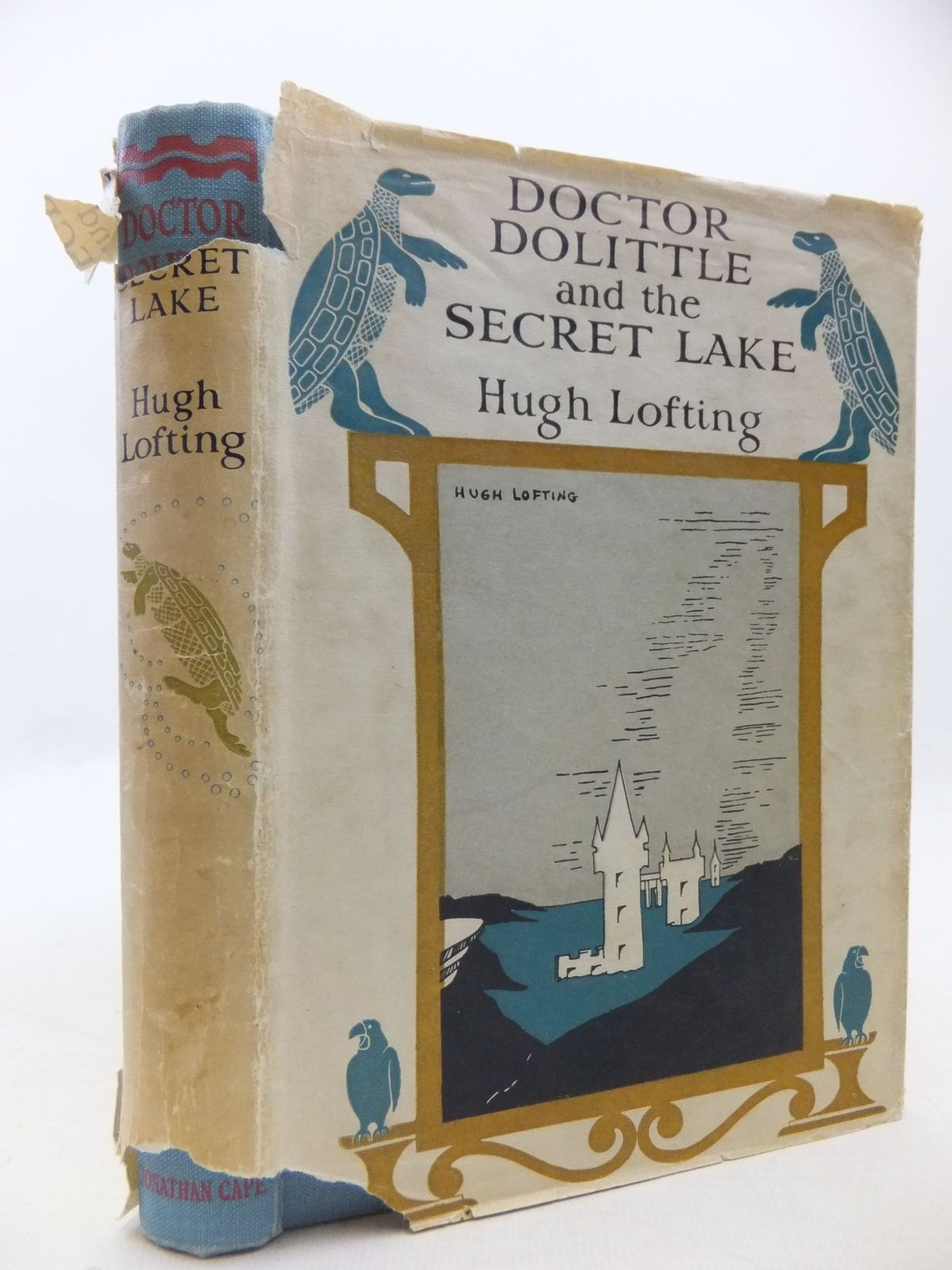 Photo of DOCTOR DOLITTLE AND THE SECRET LAKE written by Lofting, Hugh illustrated by Lofting, Hugh published by Jonathan Cape (STOCK CODE: 1709673)  for sale by Stella & Rose's Books