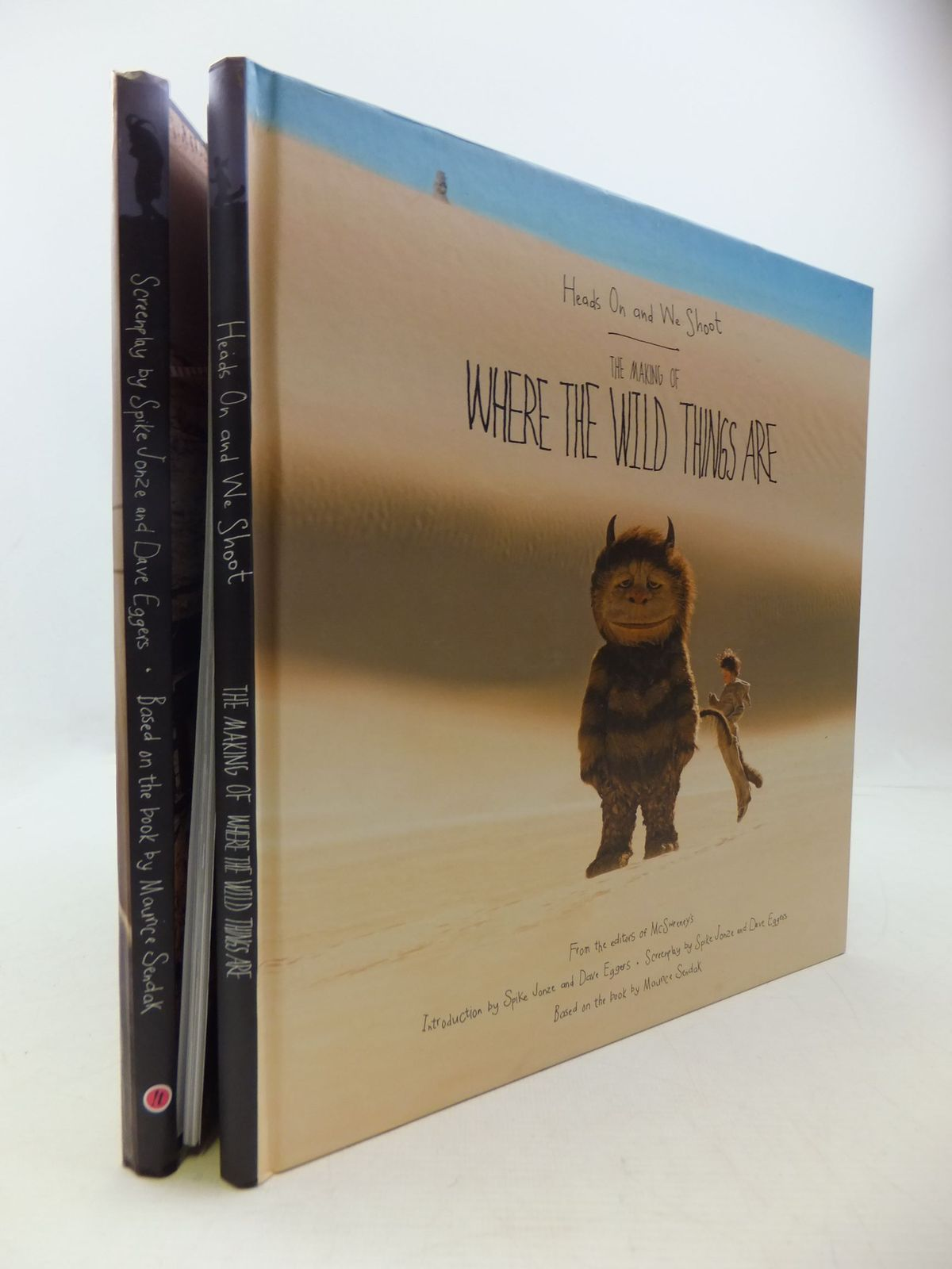 Photo of HEADS ON AND WE SHOOT THE MAKING OF WHERE THE WILD THINGS ARE written by Quint, Michelle<br />et al, illustrated by Sendak, Maurice<br />et al., published by Harpercollins Publishers Ltd (STOCK CODE: 1709850)  for sale by Stella & Rose's Books