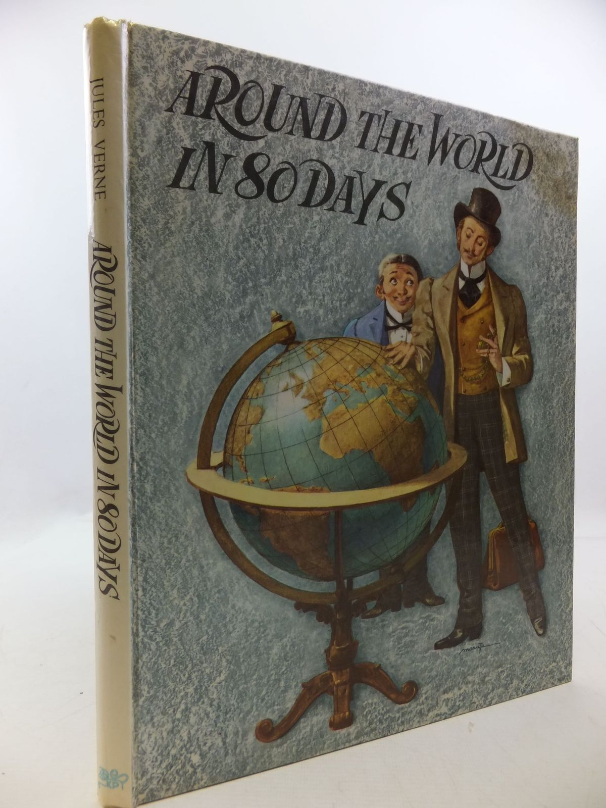 Photo of AROUND THE WORLD IN 80 DAYS written by Verne, Jules<br />McGregor, Margaret illustrated by Maraja, published by Knowledge Publications (STOCK CODE: 1709881)  for sale by Stella & Rose's Books
