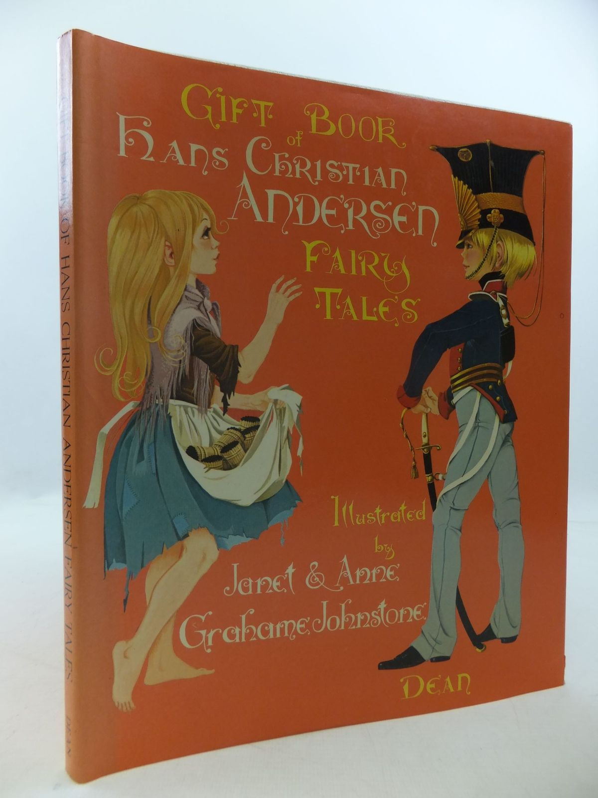 Photo of DEAN'S GIFT BOOK OF HANS CHRISTIAN ANDERSEN FAIRY TALES written by Andersen, Hans Christian illustrated by Johnstone, Janet Grahame<br />Johnstone, Anne Grahame published by Dean & Son Ltd. (STOCK CODE: 1709899)  for sale by Stella & Rose's Books