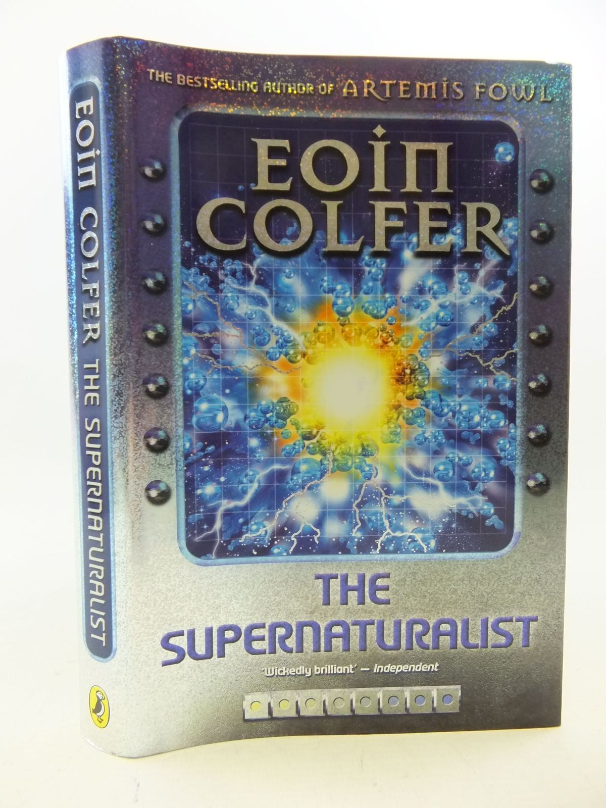 Photo of THE SUPERNATURALIST written by Colfer, Eoin published by Puffin Books (STOCK CODE: 1710327)  for sale by Stella & Rose's Books