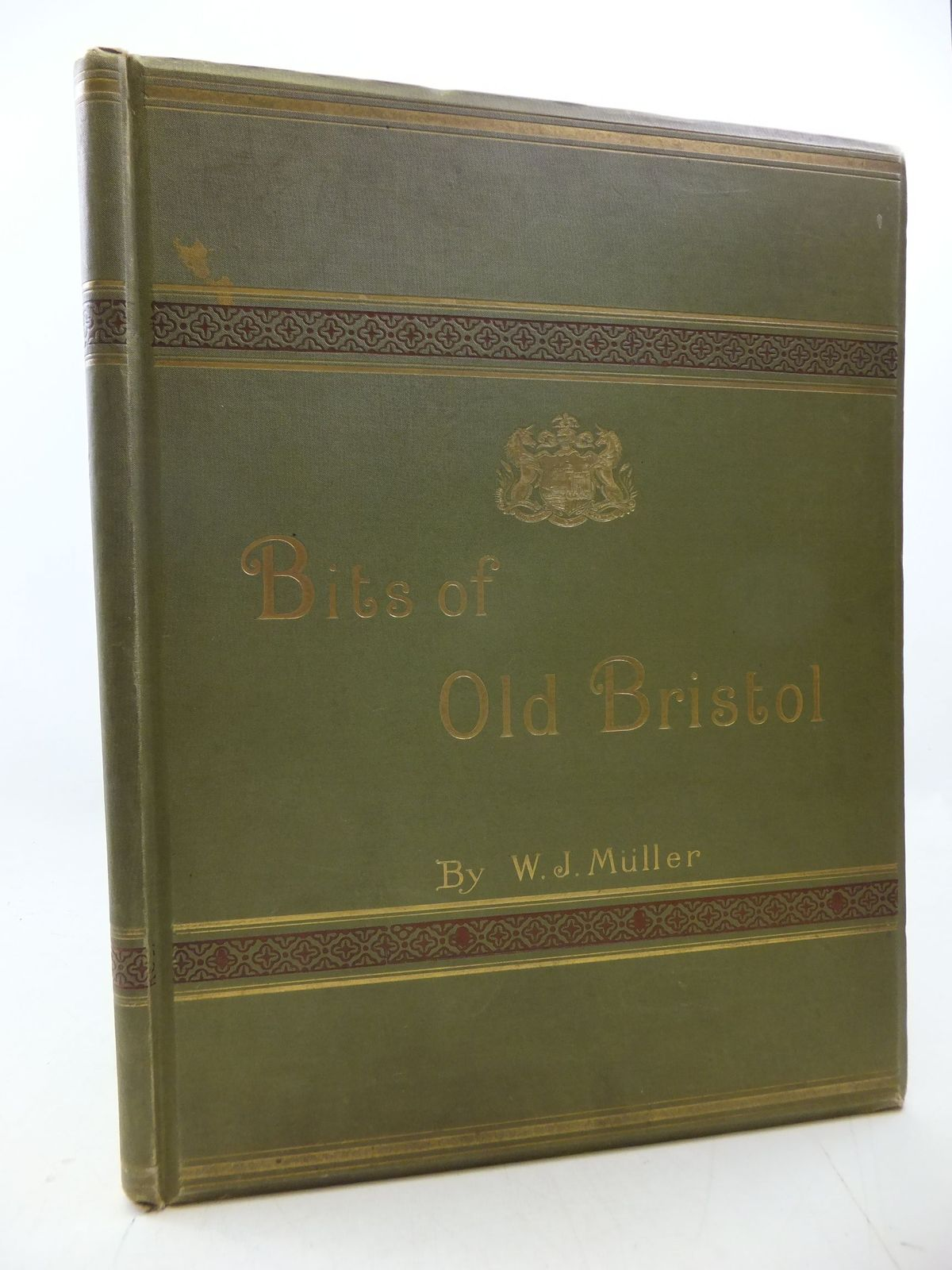 Photo of BITS OF OLD BRISTOL BEING FAC-SIMILES OF TWENTY SKETCHES written by Muller, W.J. published by J.W. Arrowsmith (STOCK CODE: 1710340)  for sale by Stella & Rose's Books