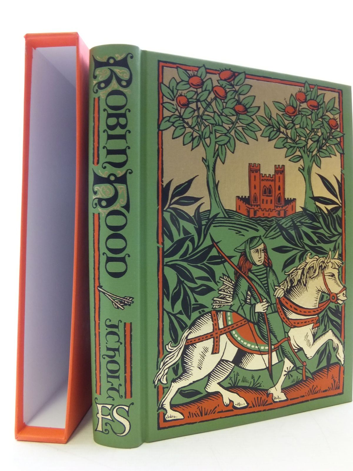 Photo of ROBIN HOOD written by Holt, J.C. published by Folio Society (STOCK CODE: 1710354)  for sale by Stella & Rose's Books