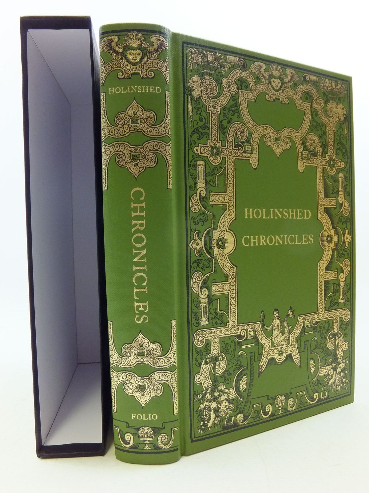 Photo of CHRONICLES written by Holinshed, Raphael published by Folio Society (STOCK CODE: 1710357)  for sale by Stella & Rose's Books