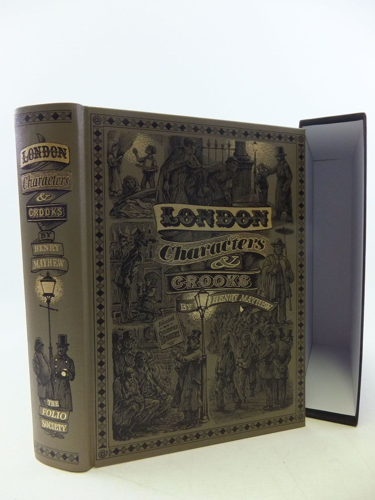 Photo of LONDON CHARACTERS AND CROOKS written by Mayhew, Henry<br />Hibbert, Christopher published by Folio Society (STOCK CODE: 1710395)  for sale by Stella & Rose's Books