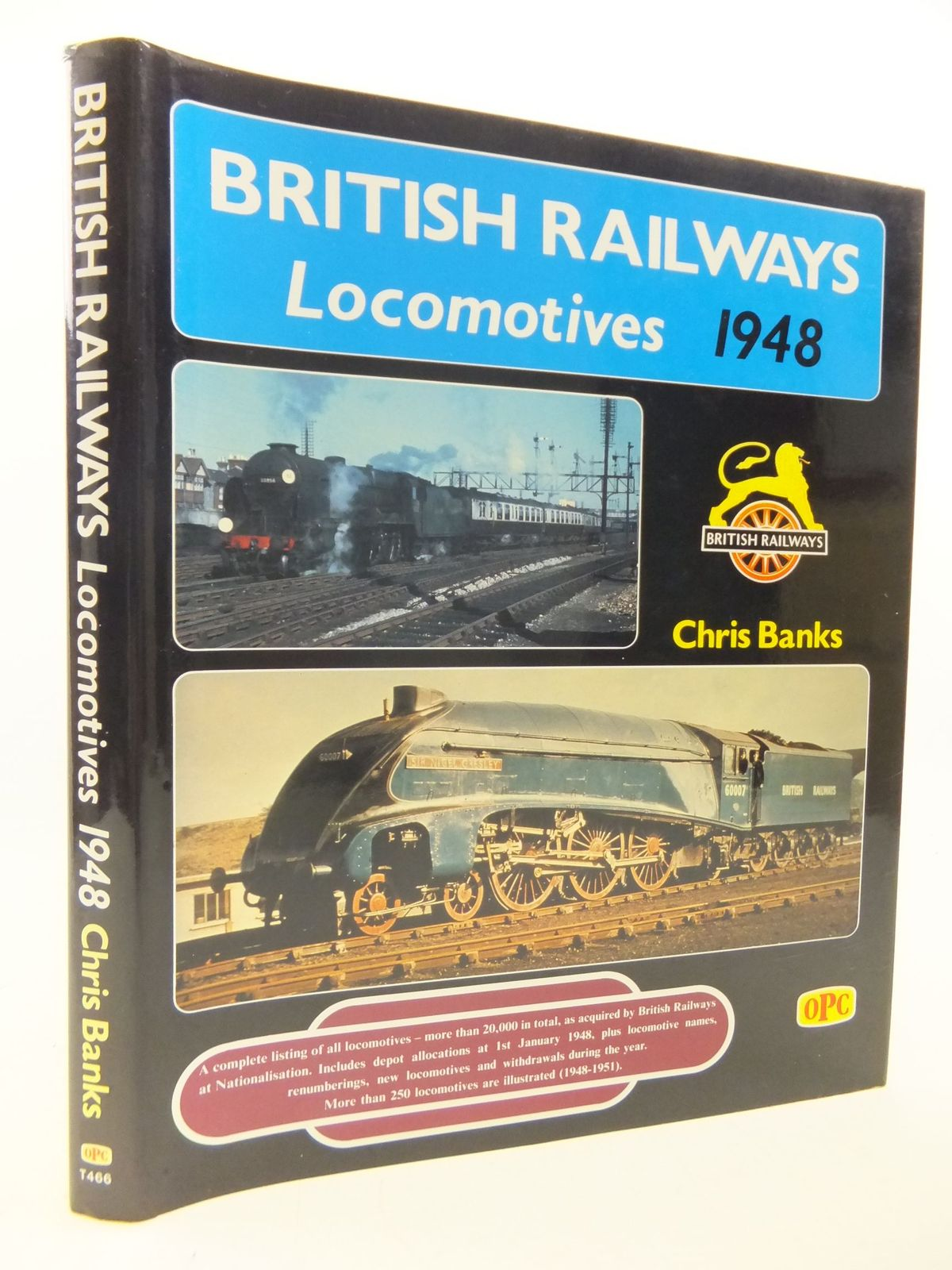 Photo of BRITISH RAILWAYS LOCOMOTIVES 1948 written by Banks, Chris published by Haynes, Oxford Publishing (STOCK CODE: 1710505)  for sale by Stella & Rose's Books