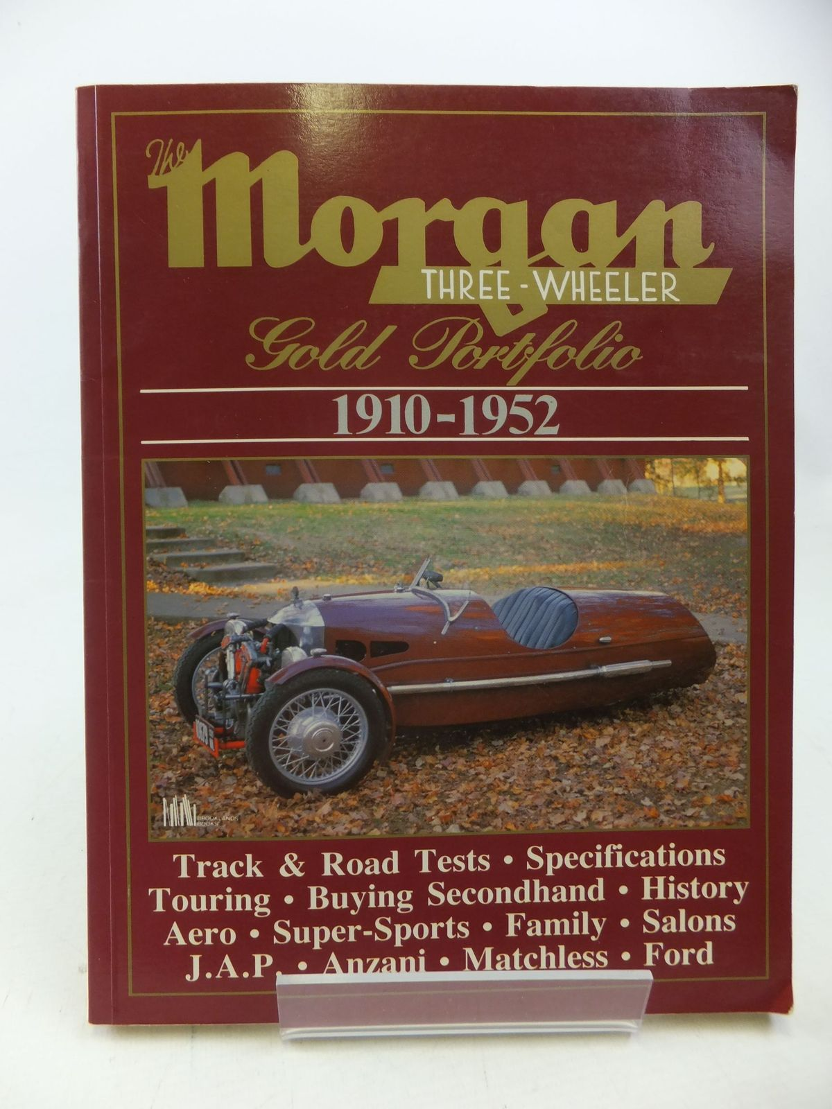 Photo of THE MORGAN THREE-WHEELER GOLD PORTFOLIO 1910-1952 written by Clarke, R.M. published by Brooklands Books (STOCK CODE: 1710643)  for sale by Stella & Rose's Books