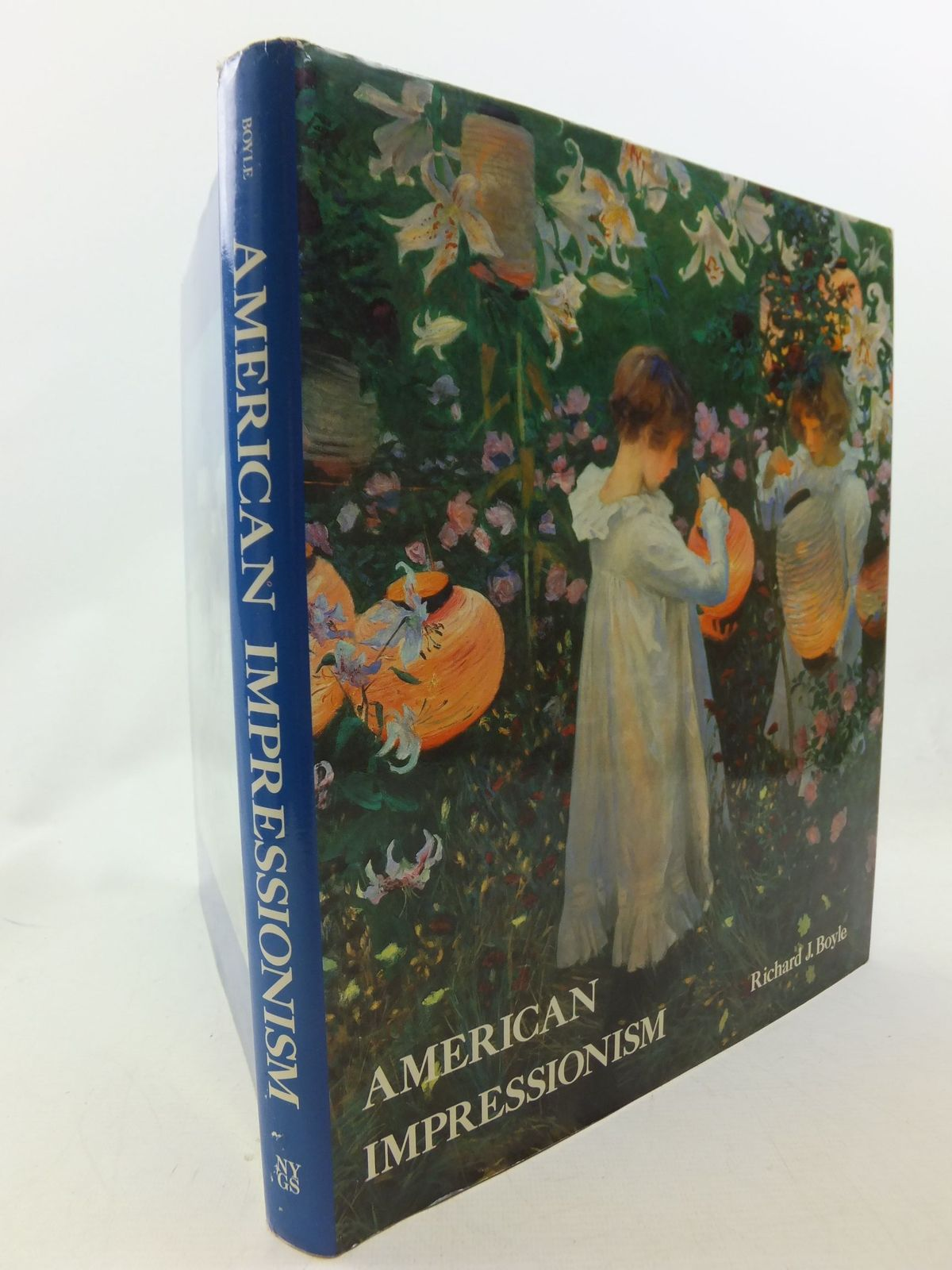 Photo of AMERICAN IMPRESSIONISM written by Boyle, Richard J. published by New York Graphic Society Publishers (STOCK CODE: 1710690)  for sale by Stella & Rose's Books