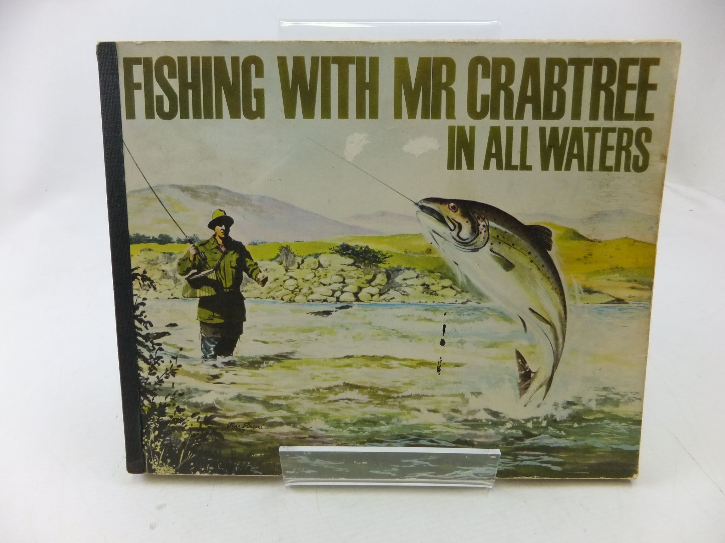 Photo of FISHING WITH MR. CRABTREE IN ALL WATERS written by Venables, Bernard published by Daily Mirror (STOCK CODE: 1710742)  for sale by Stella & Rose's Books