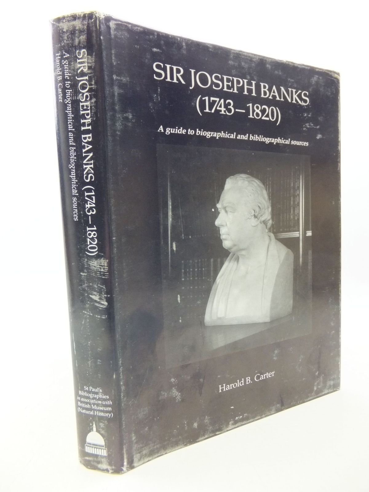 Photo of SIR JOSEPH BANKS 1743-1820 written by Carter, Harold published by St Paul's Bibliographies, British Museum (Natural History) (STOCK CODE: 1710743)  for sale by Stella & Rose's Books