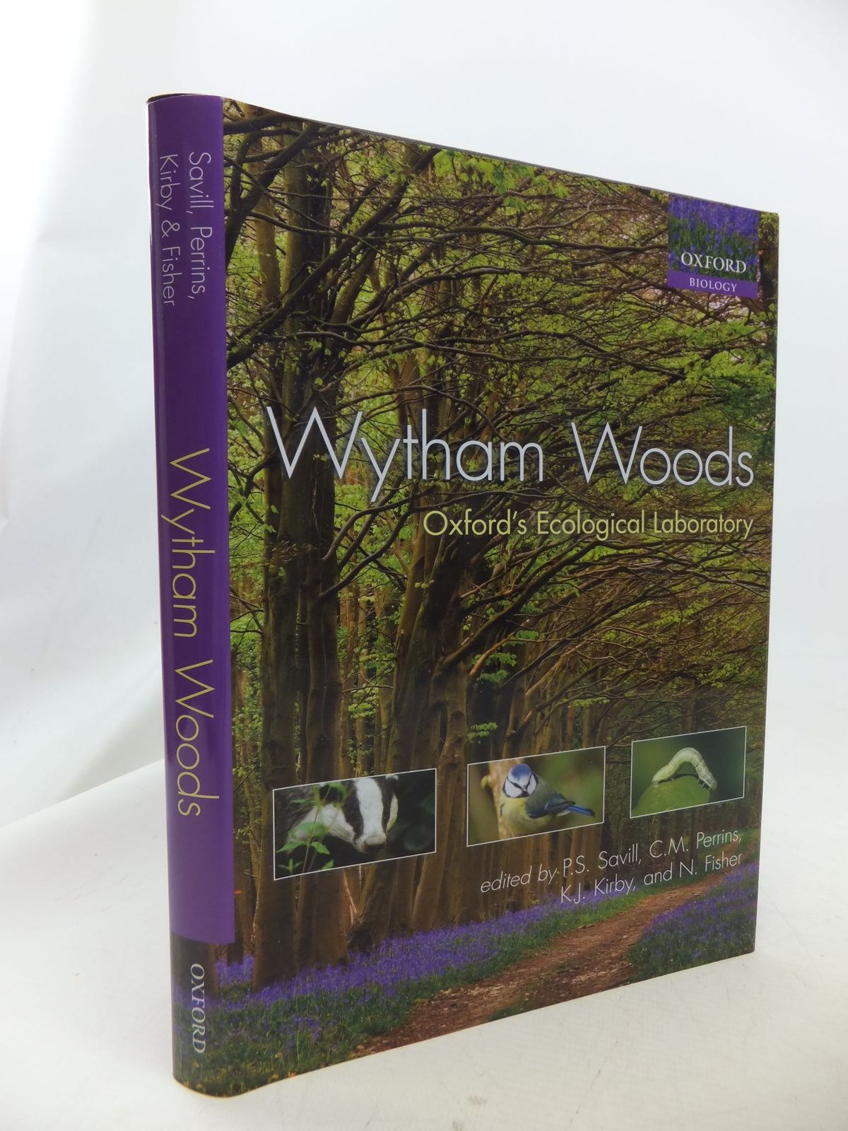 Photo of WYTHAM WOODS OXFORD'S ECOLOGICAL LABORATORY written by Savill, P.S.<br />Perrins, C.M.<br />et al, published by Oxford University Press (STOCK CODE: 1710831)  for sale by Stella & Rose's Books