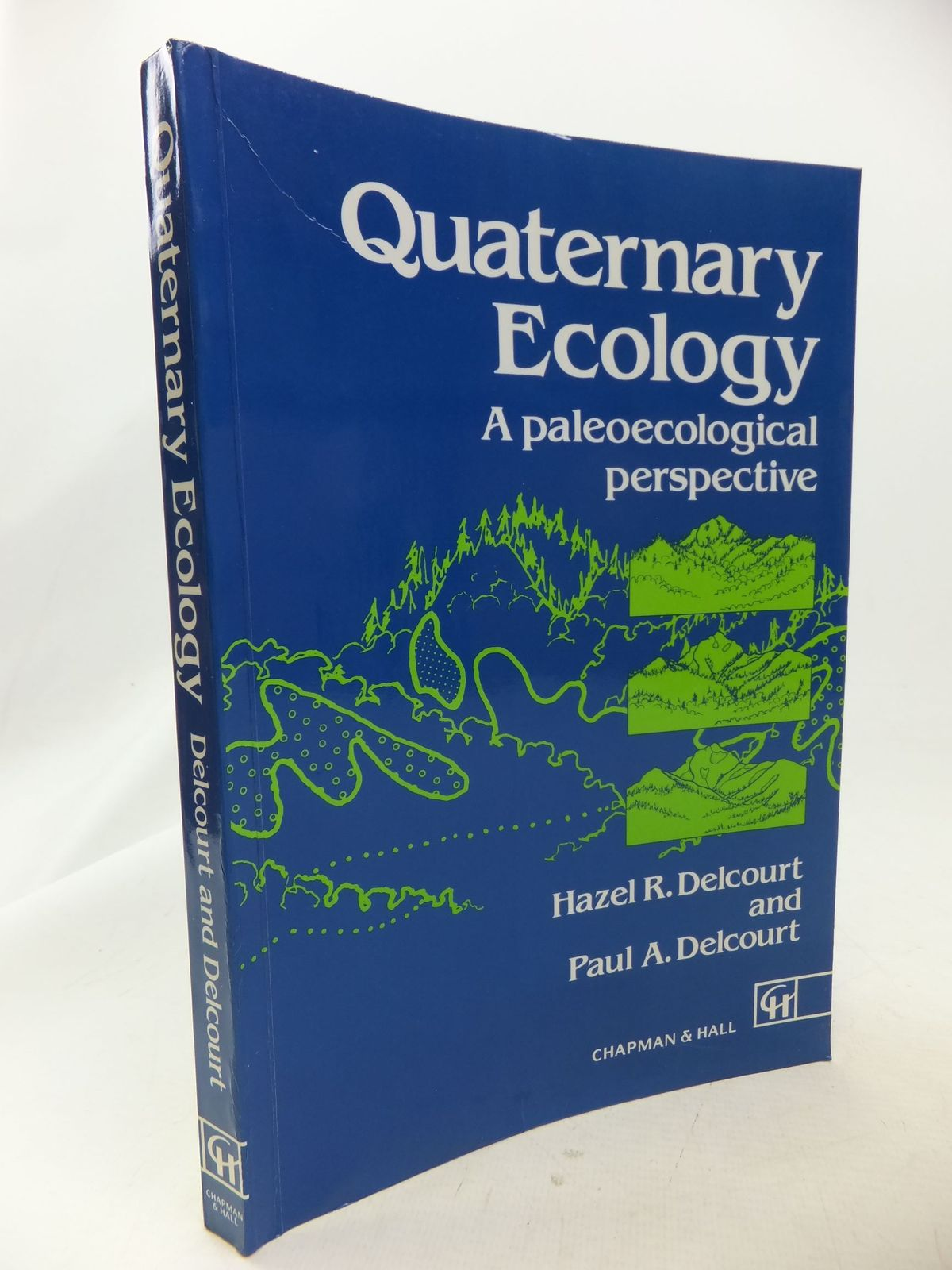 Photo of QUATERNARY ECOLOGY A PALEOECOOGICAL PERSPECTIVE written by Delcourt, Hazel R.<br />Delcourt, Paul A. published by Chapman & Hall (STOCK CODE: 1710850)  for sale by Stella & Rose's Books