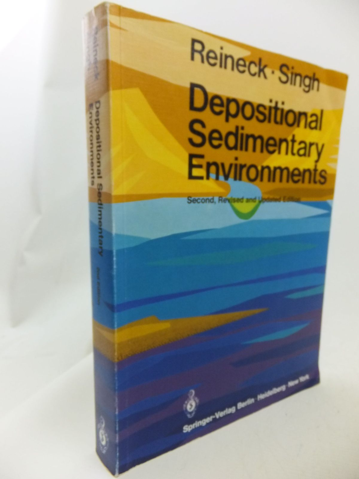 Photo of DEPOSITIONAL SEDIMENTRARY ENVIRONMENTS WITH REFERENCE TO TERRIGENOUS CLASTICS written by Reineck, H.E.<br />Singh, I.B. published by Springer-Verlag (STOCK CODE: 1710869)  for sale by Stella & Rose's Books