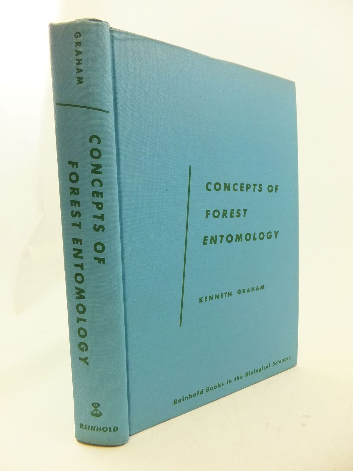 Photo of CONCEPTS OF FOREST ENTOMOLOGY written by Grahame, Kenneth published by Reinhold Publishing Corporation (STOCK CODE: 1710884)  for sale by Stella & Rose's Books