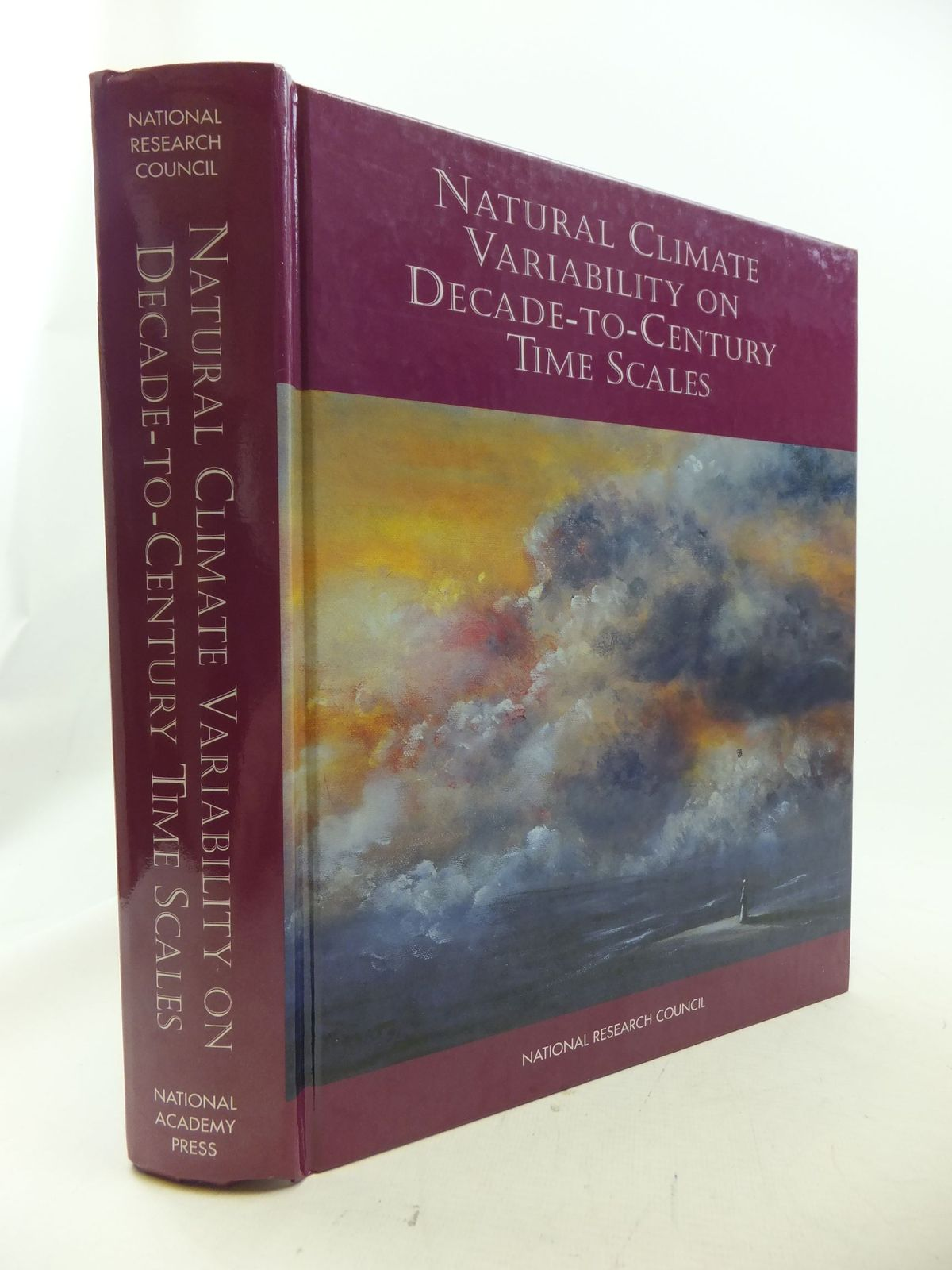 Photo of NATURAL CLIMATE VARIABILITY ON DECADES-TO-CENTURY TIME SCALES written by Martinson, Douglas G.<br />et al, published by National Academy Press (STOCK CODE: 1710888)  for sale by Stella & Rose's Books