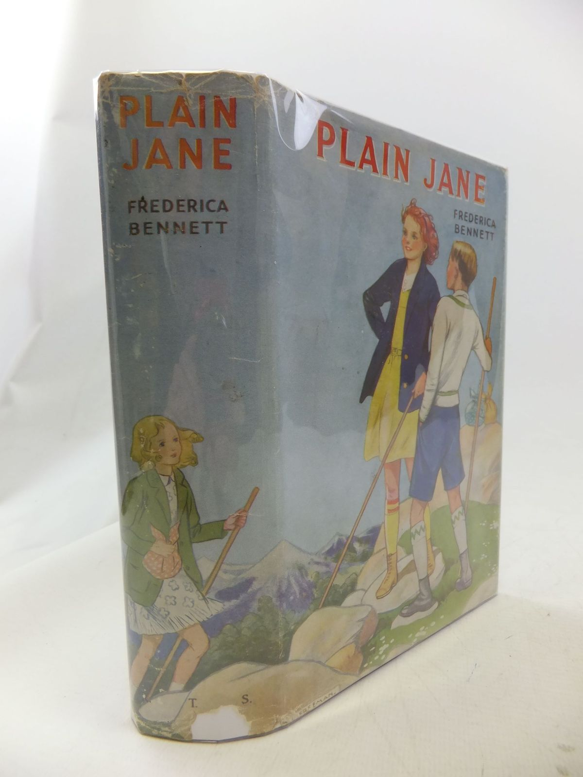 Photo of PLAIN JANE written by Bennett, Frederica illustrated by Freeman, Barbara C. published by The Girl's Own Paper Office (STOCK CODE: 1710929)  for sale by Stella & Rose's Books