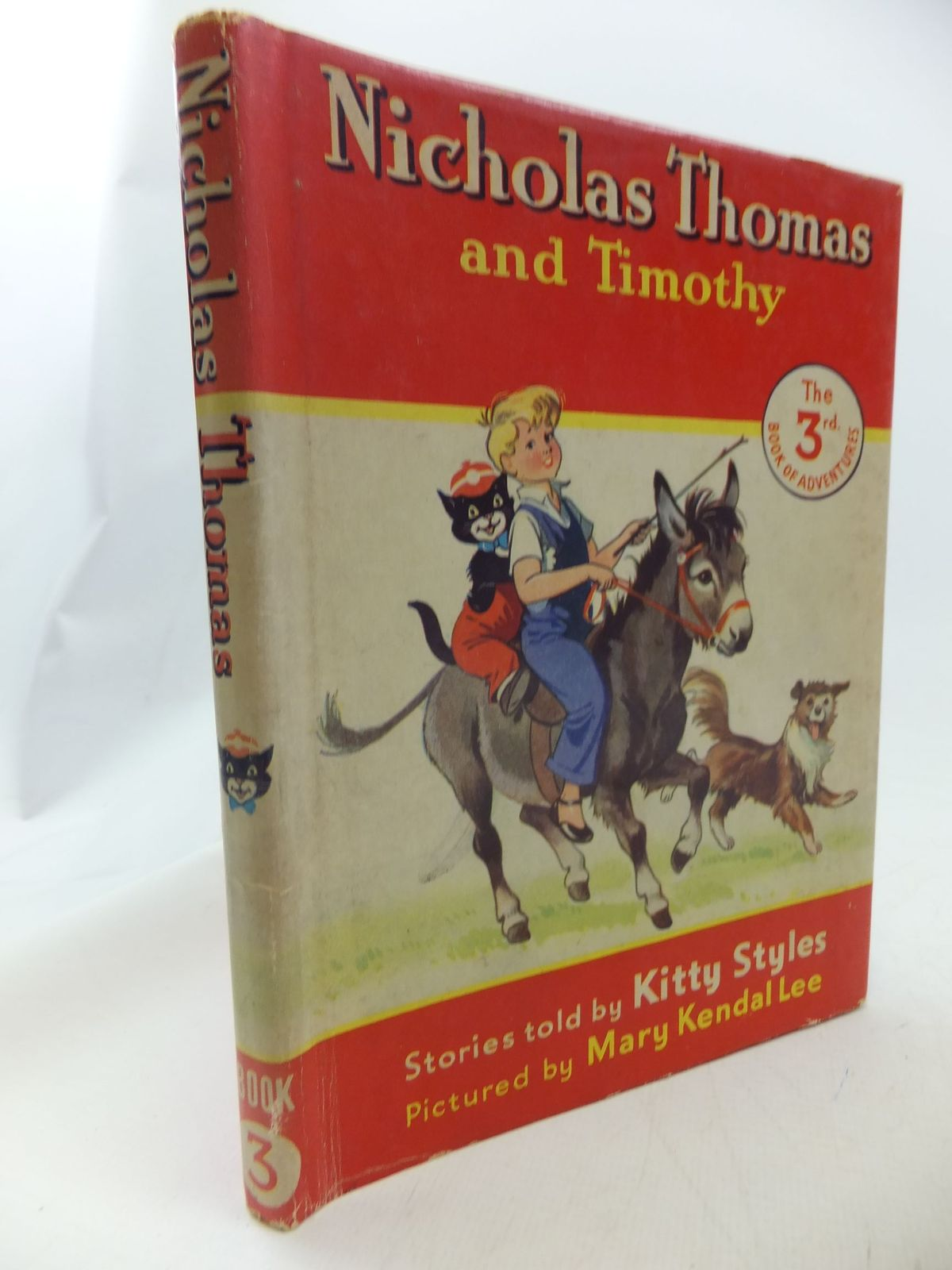 Photo of NICHOLAS THOMAS AND TIMOTHY No. 3 written by Styles, Kitty illustrated by Lee, Mary Kendal published by Sampson Low, Marston & Co. Ltd. (STOCK CODE: 1710944)  for sale by Stella & Rose's Books