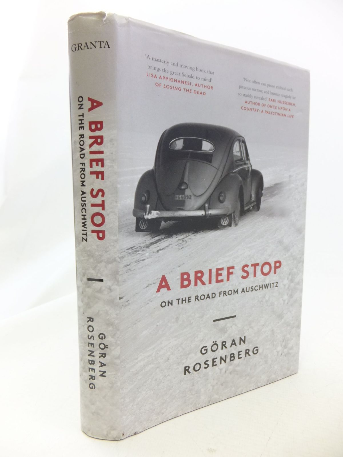 Photo of A BRIEF STOP ON THE ROAD FROM AUSCHWITZ written by Rosenberg, Goran published by Granta (STOCK CODE: 1710970)  for sale by Stella & Rose's Books