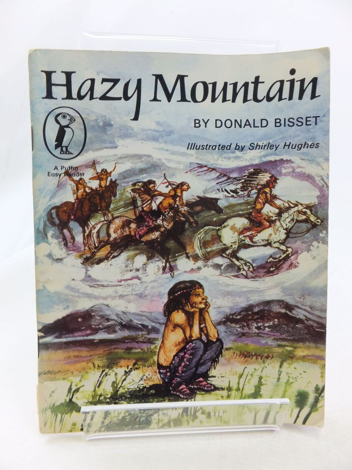 Photo of HAZY MOUNTAIN written by Bisset, Donald illustrated by Hughes, Shirley published by Puffin Books (STOCK CODE: 1710978)  for sale by Stella & Rose's Books