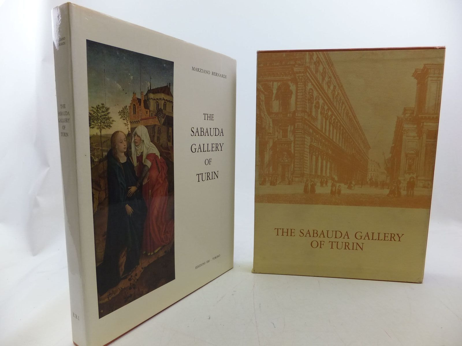 Photo of THE SABAUDA GALLERY OF TURIN written by Bernardi, Marziano published by Edizioni Eri (STOCK CODE: 1711053)  for sale by Stella & Rose's Books
