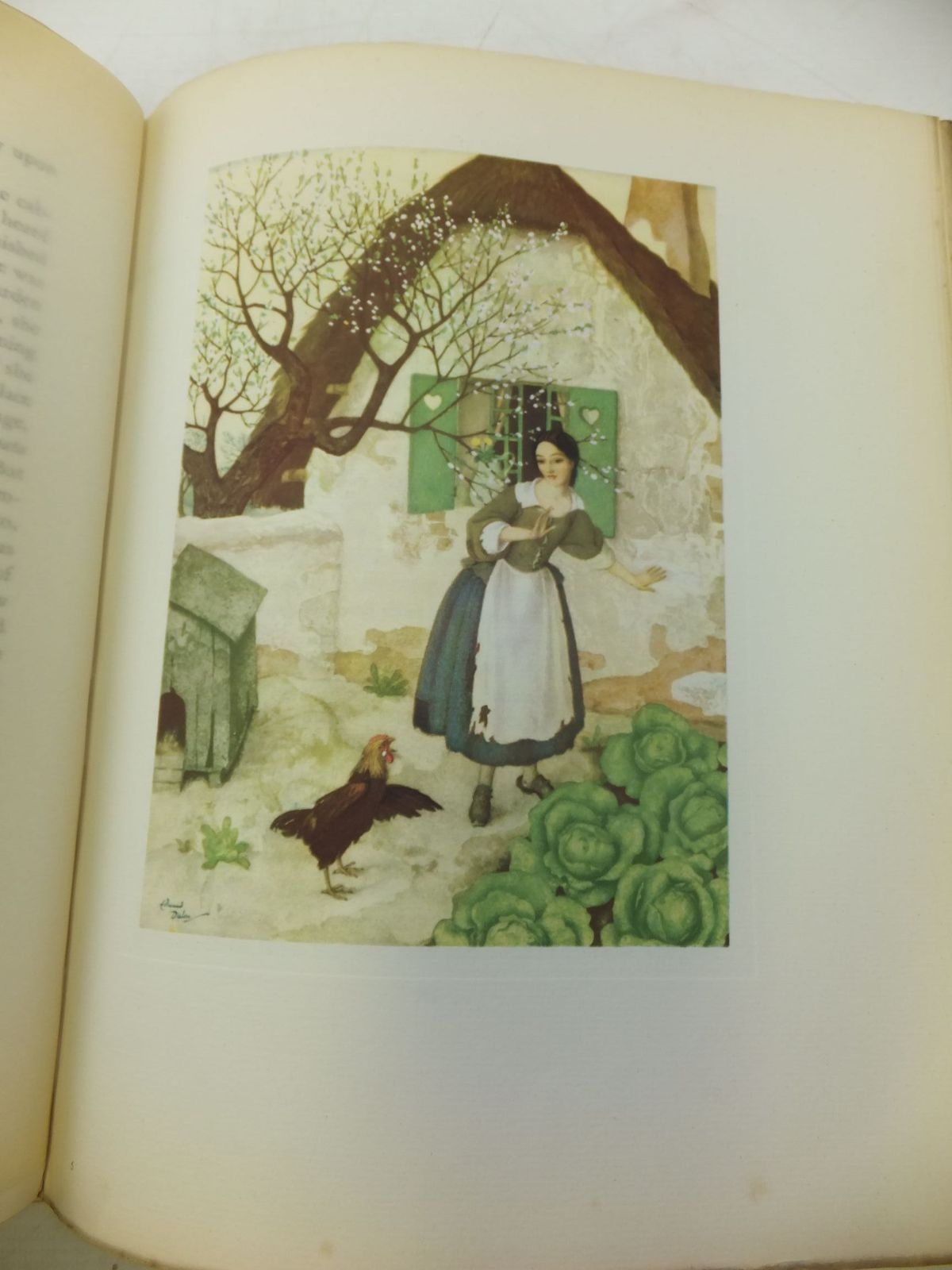 Photo of A FAIRY GARLAND illustrated by Dulac, Edmund published by Cassell & Company Ltd (STOCK CODE: 1711382)  for sale by Stella & Rose's Books